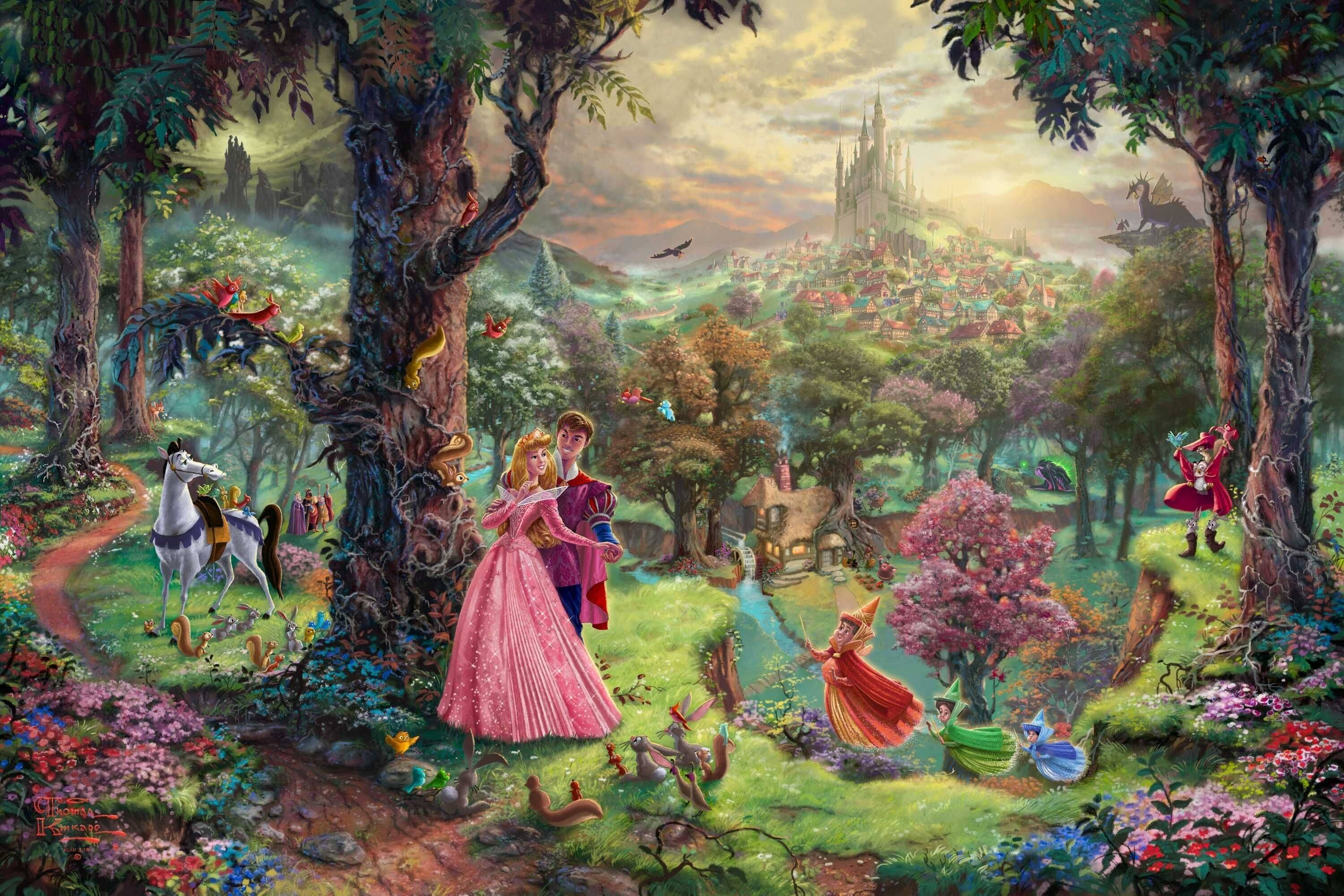 Sleeping Beauty Wallpapers Wallpaper Cave