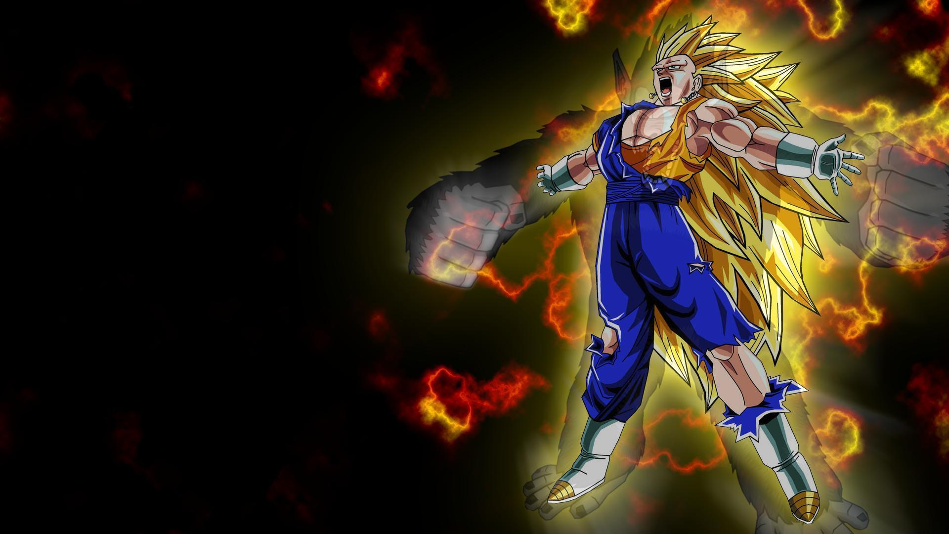 Dragon Ball Z Goku Super Saiyan 3 Wallpaper 30055 Arkpaint