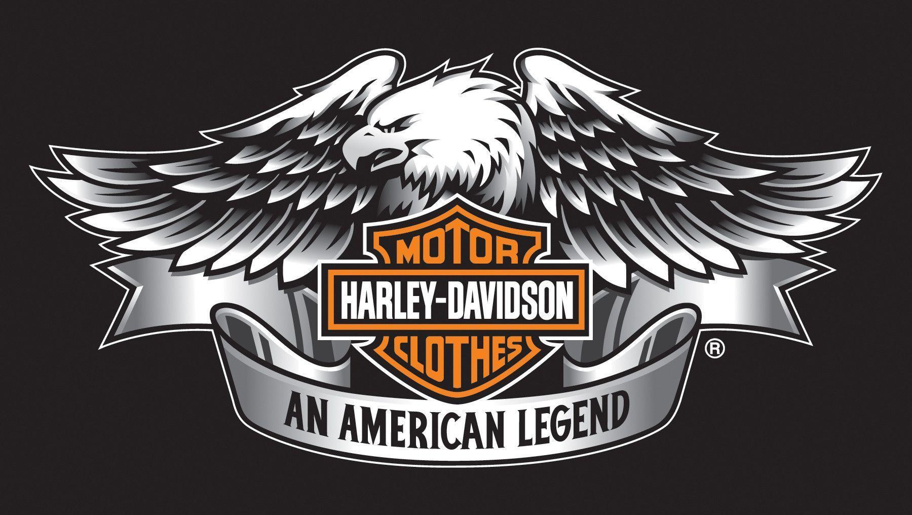 newest harley davidson logo wallpapers - photo #11