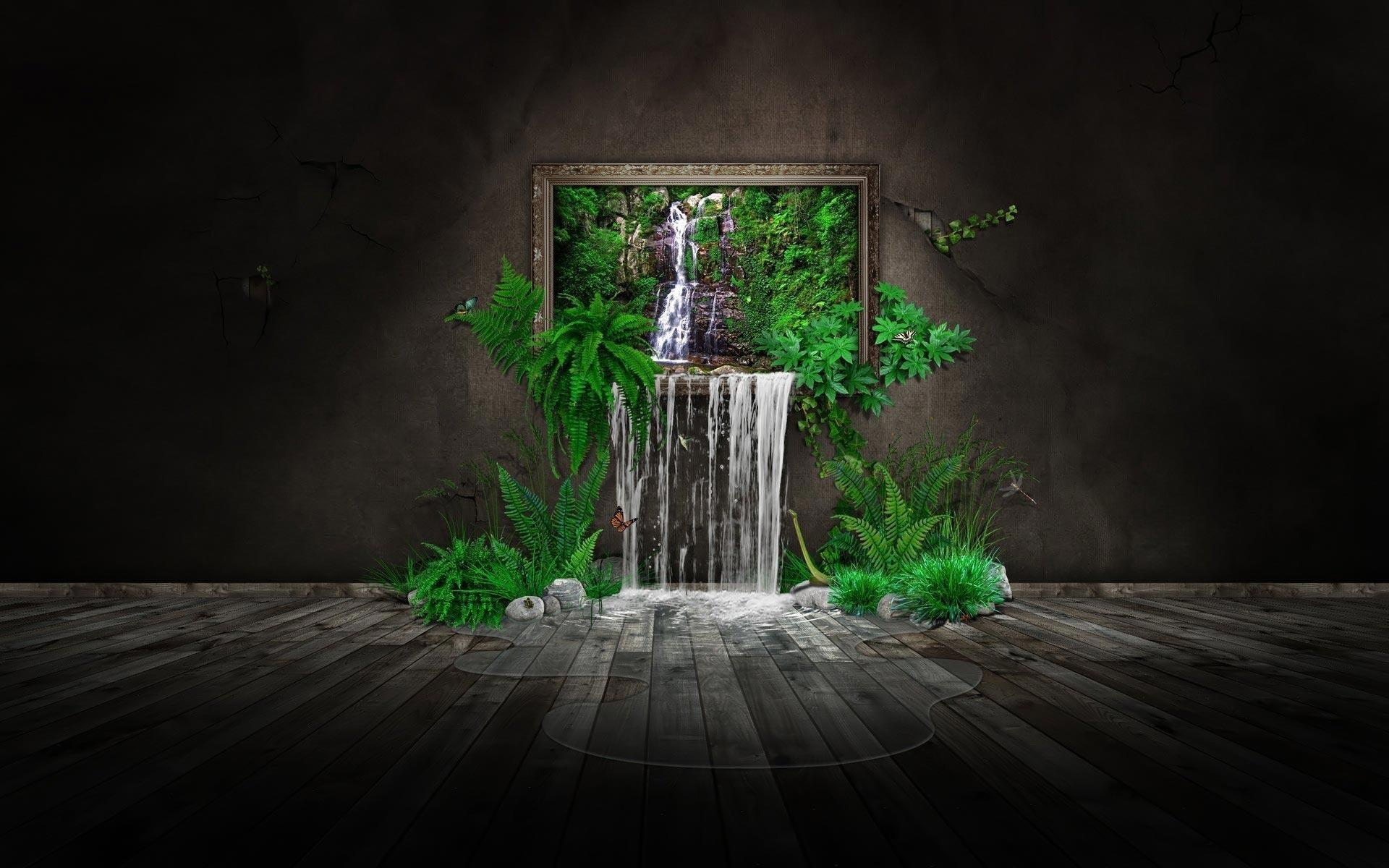 Surrealism wallpapers wallpaper cave for Punch home and landscape design 3d black screen