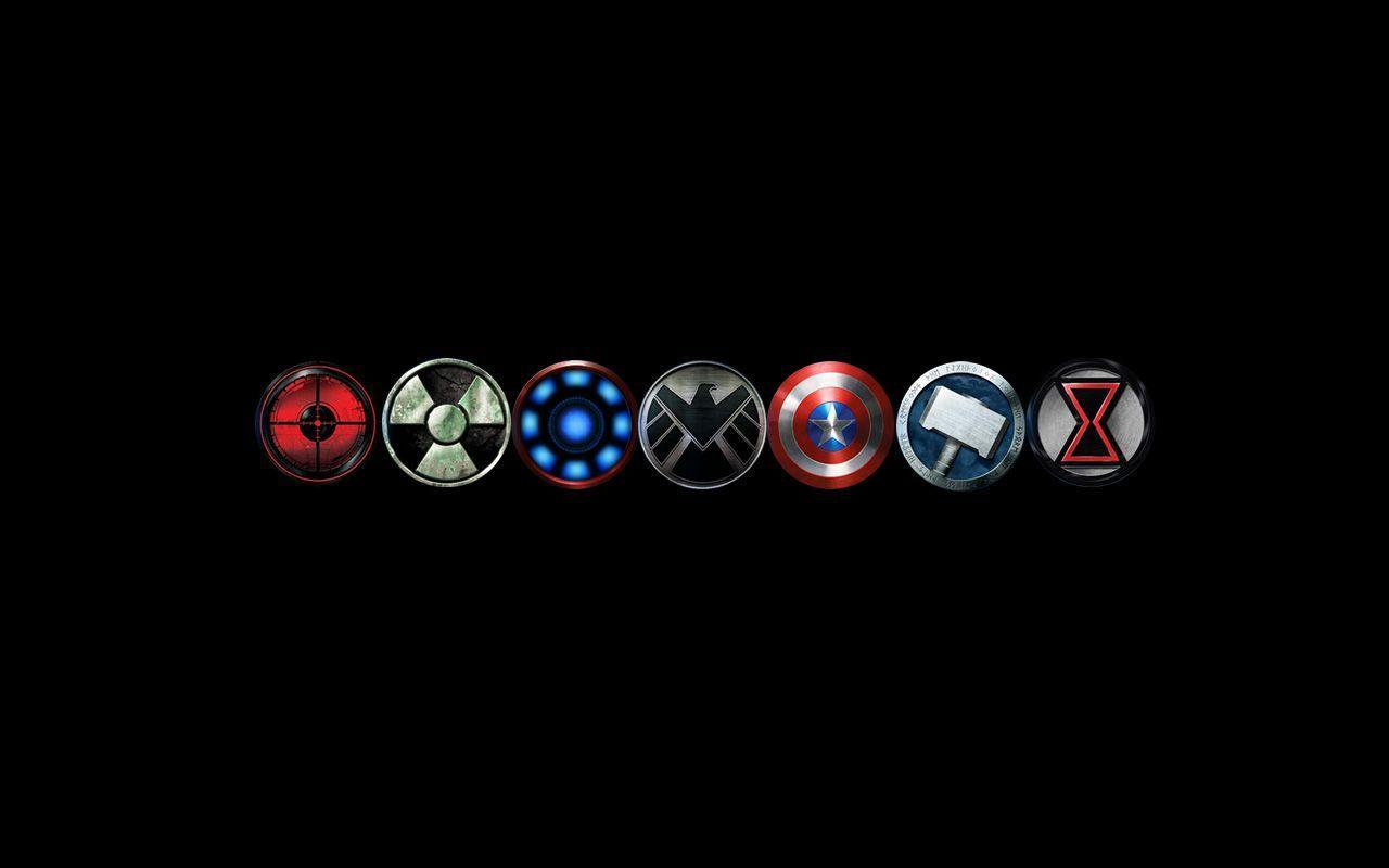 Avengers black widow symbol - photo#24