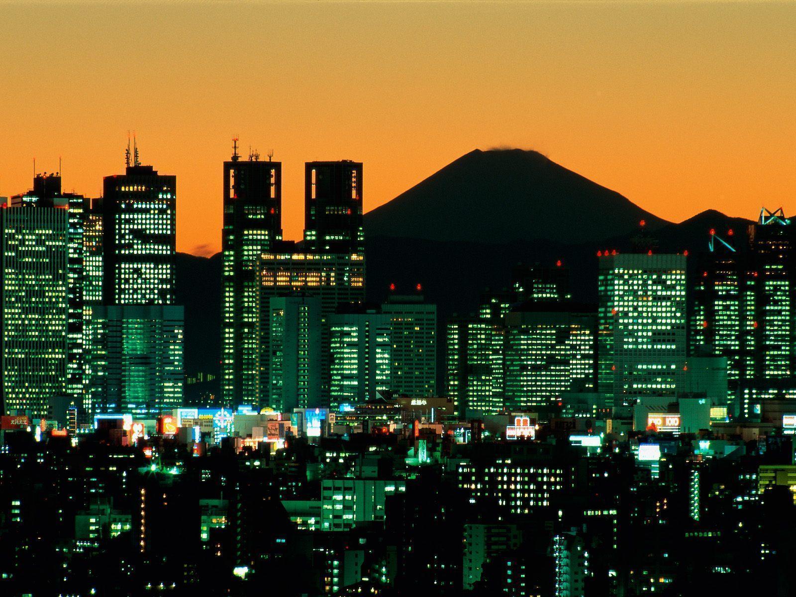 Pix For > Tokyo Wallpaper