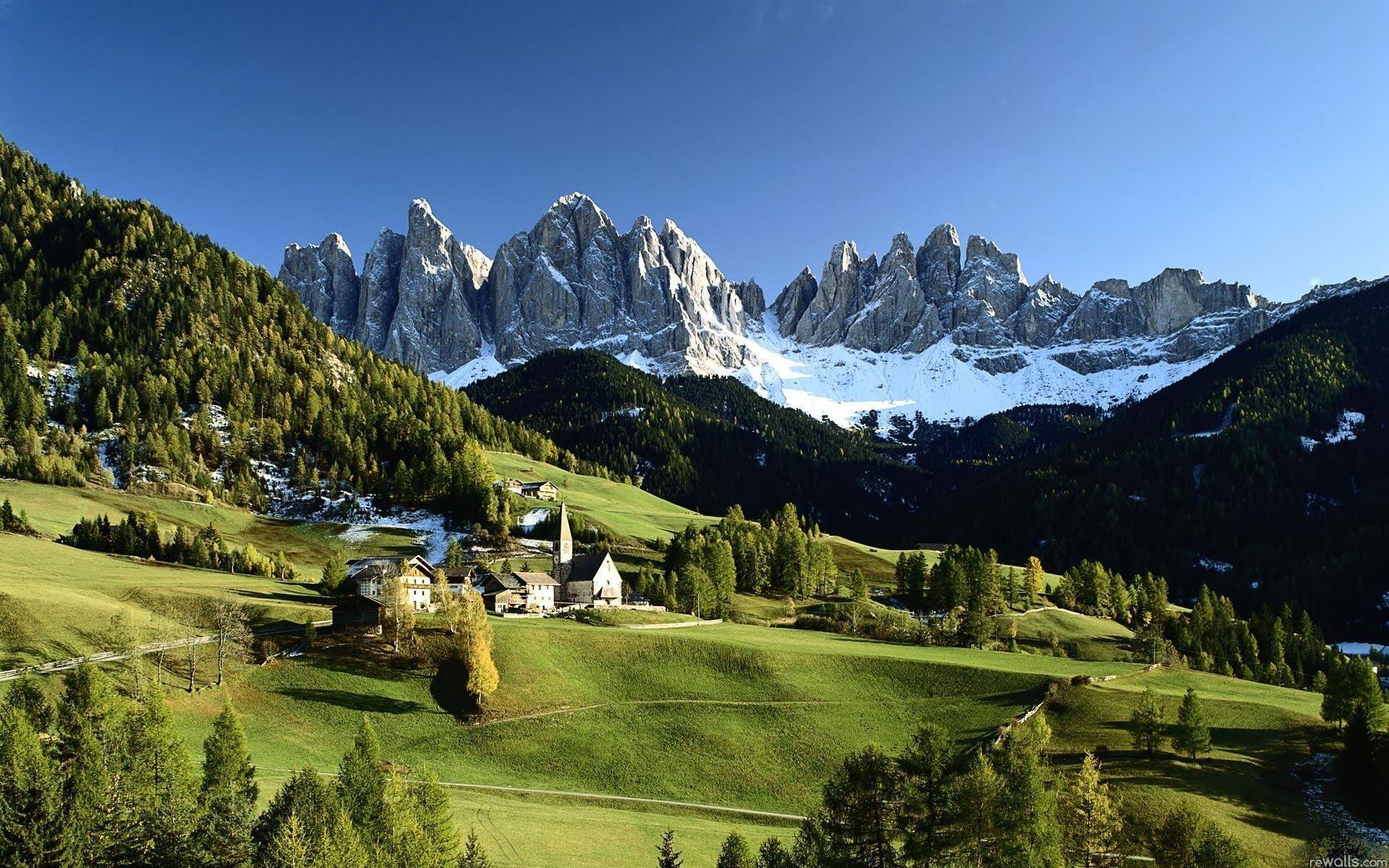 Italian Alps Wallpaper