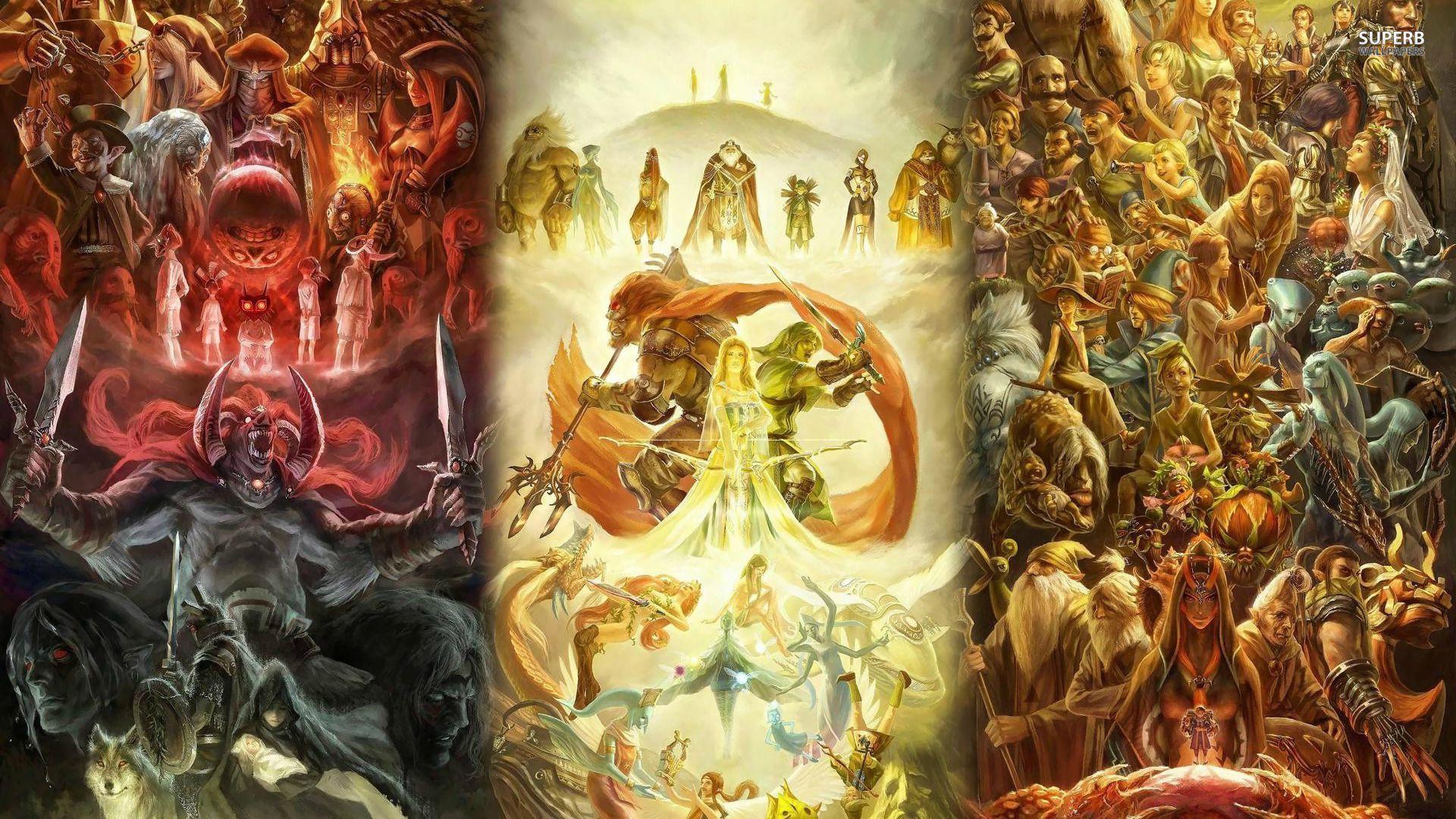 Legend Of Zelda Backgrounds