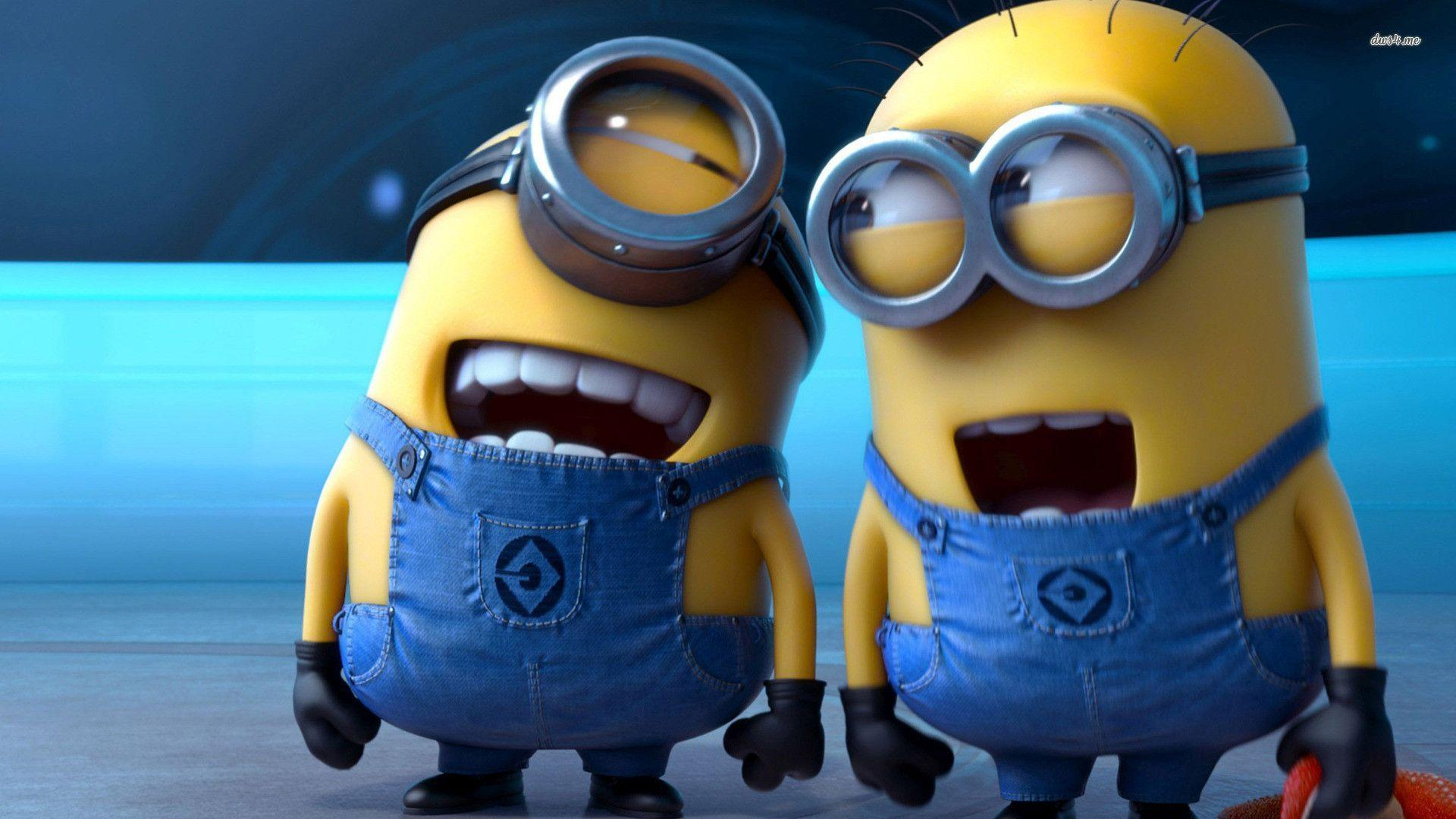 Despicable Me 2 Laughing Minions wallpaper - Cartoon wallpapers - #