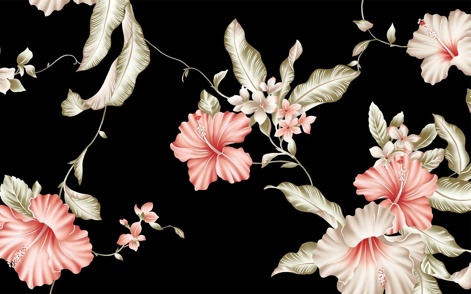 Hibiscus Flowers Wallpaper 1920x1200 Px