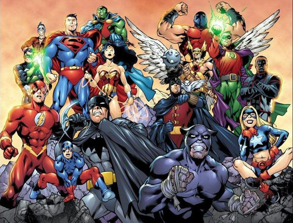 Justice league wallpapers wallpaper cave - Dc characters wallpaper hd ...