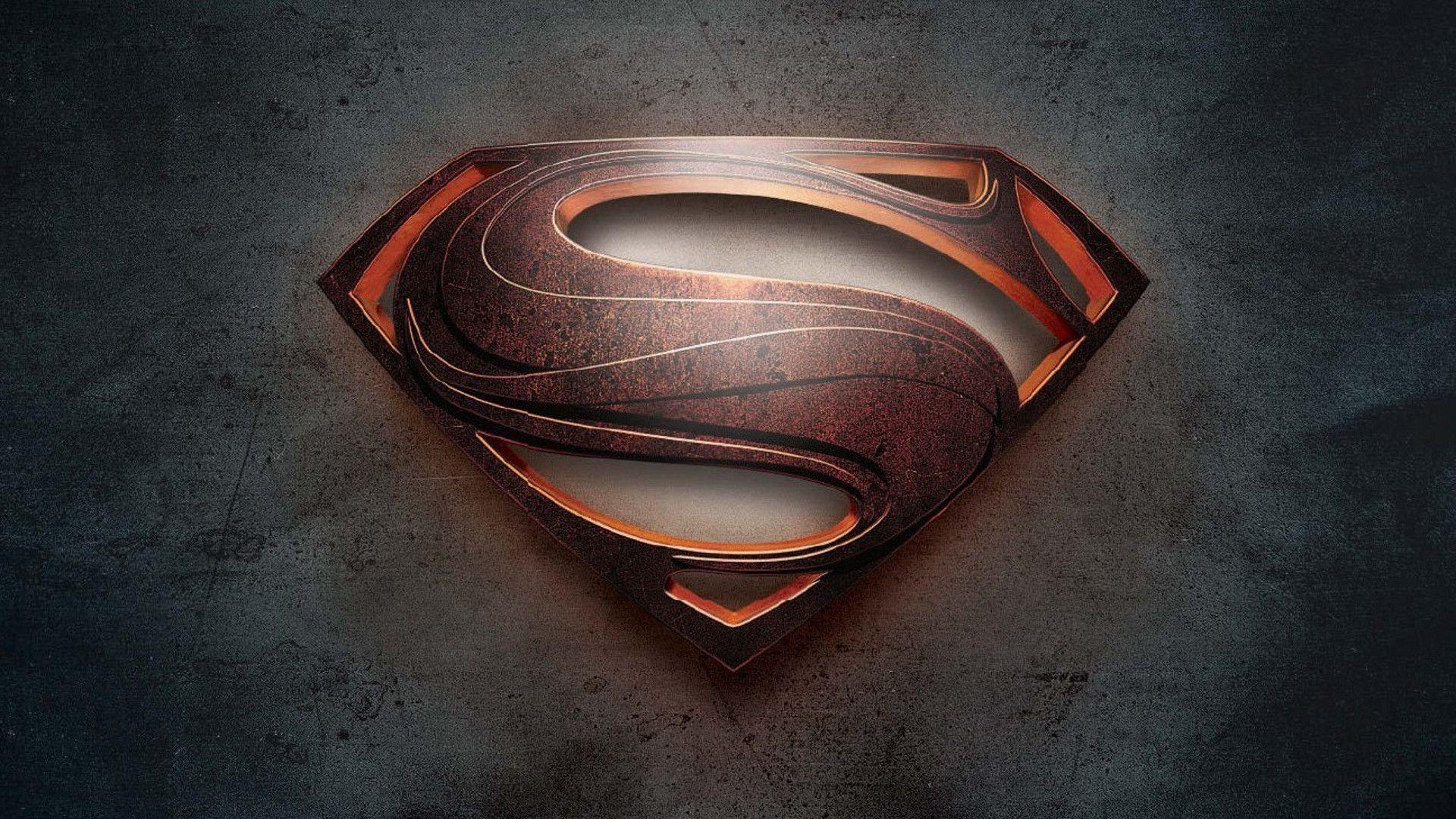 Hd wallpaper superman - Superman Logo Wallpaper Hd Man Of Steel 1080p Genovic