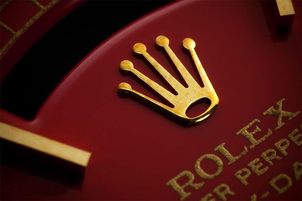 Oro massiccio gentlemans Rolex Oyster orologio da polso con egizia rh