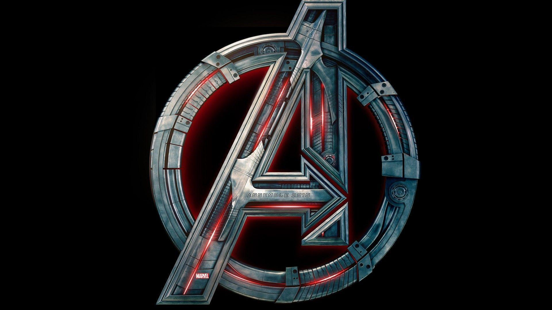 Wallpapers For > Avengers Logo Wallpapers