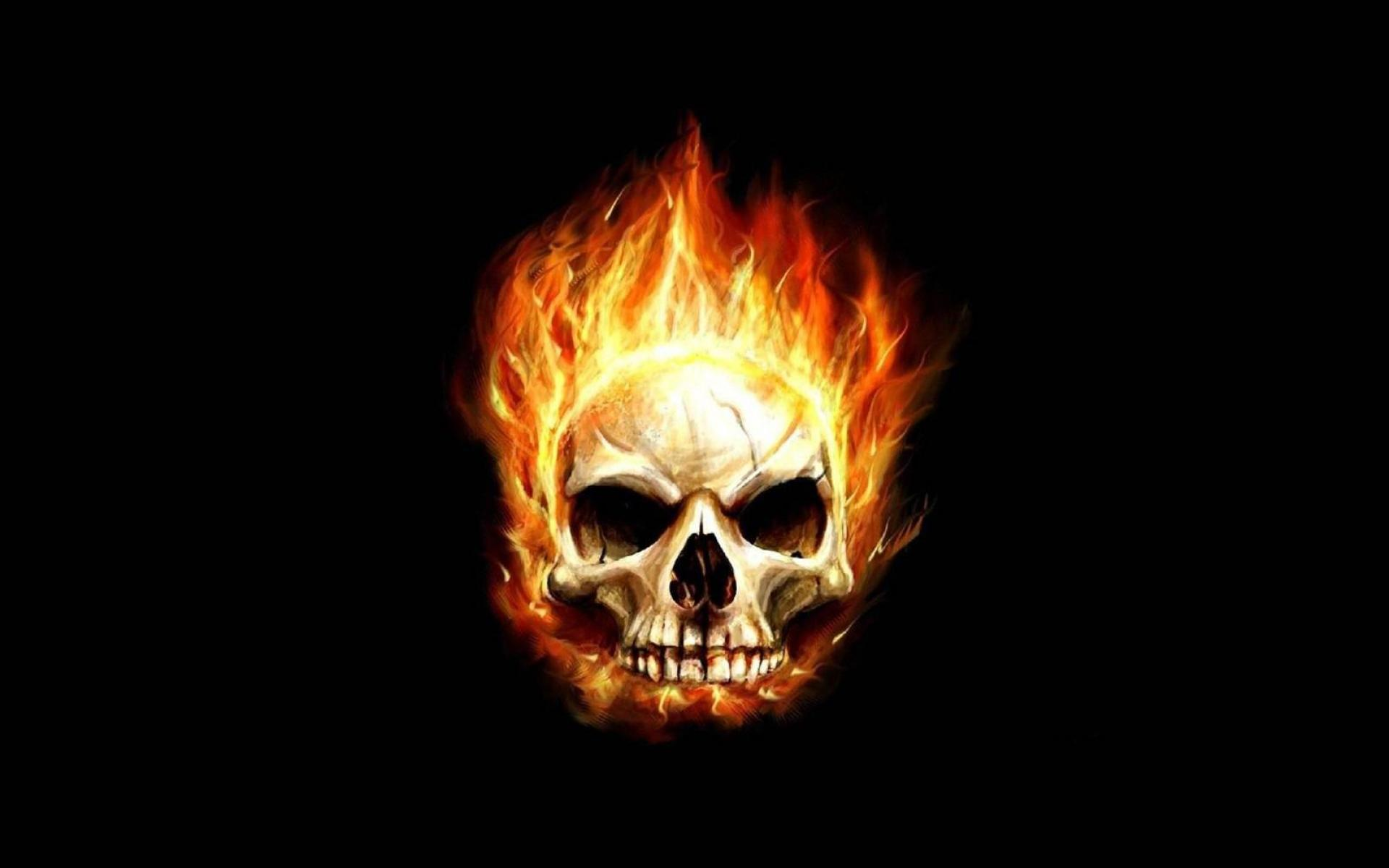 Skull Fire Wallpapers