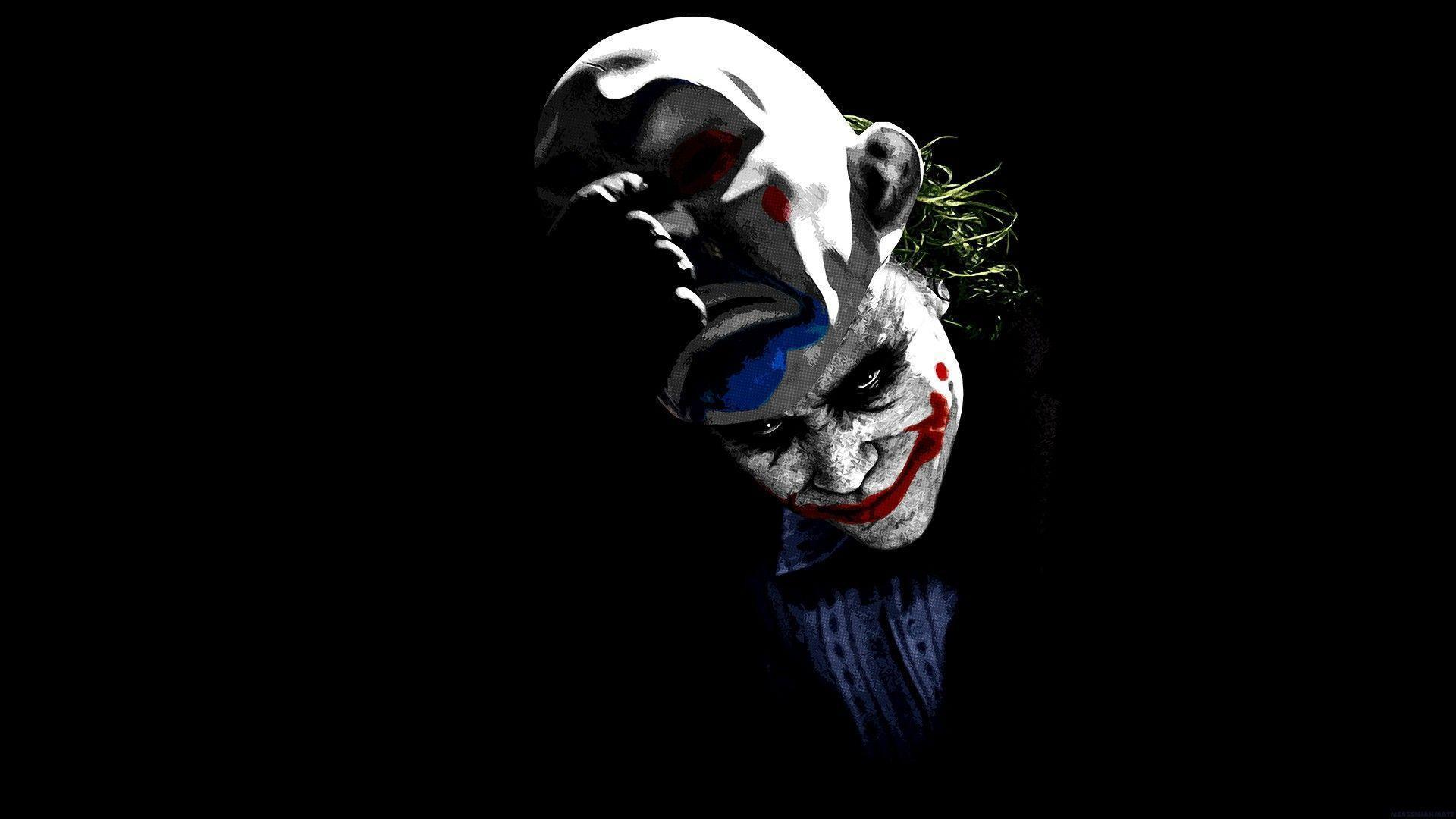 Scary Joker Images HD Wallpaper