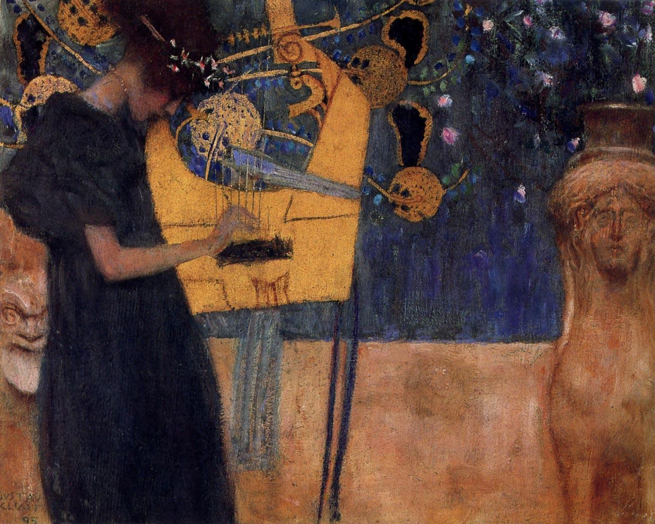 Klimt The Kiss Wallpaper Klimt Wallpapers - Wal...