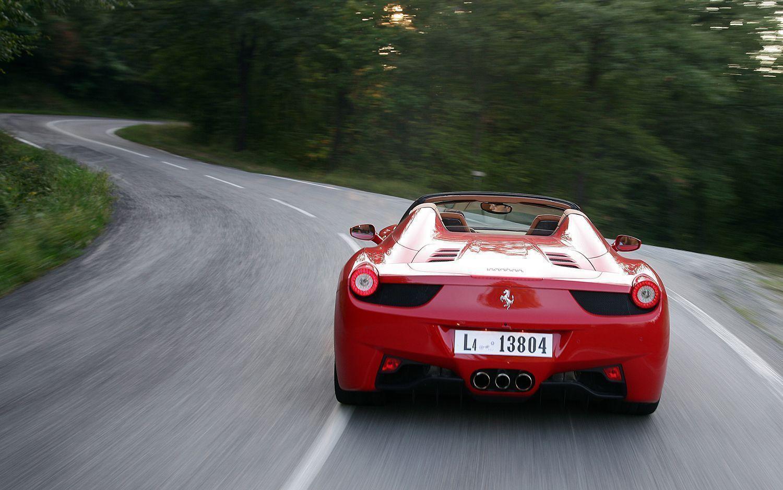 Get Ferrari Back Wallpaper  Pics