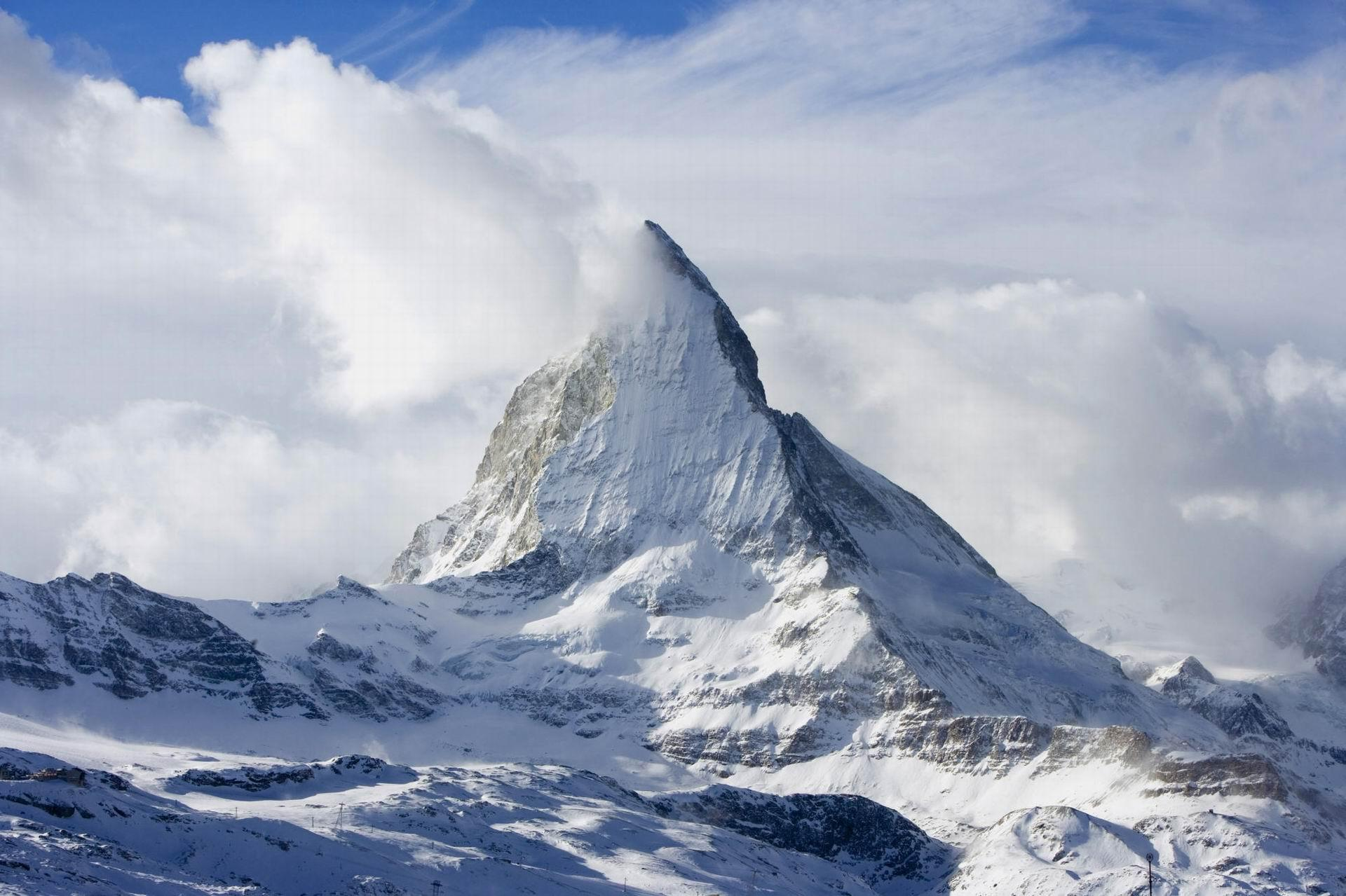 Matterhorn, Zermatt, Swiss Alps, Switzerland - HD Travel photos ...
