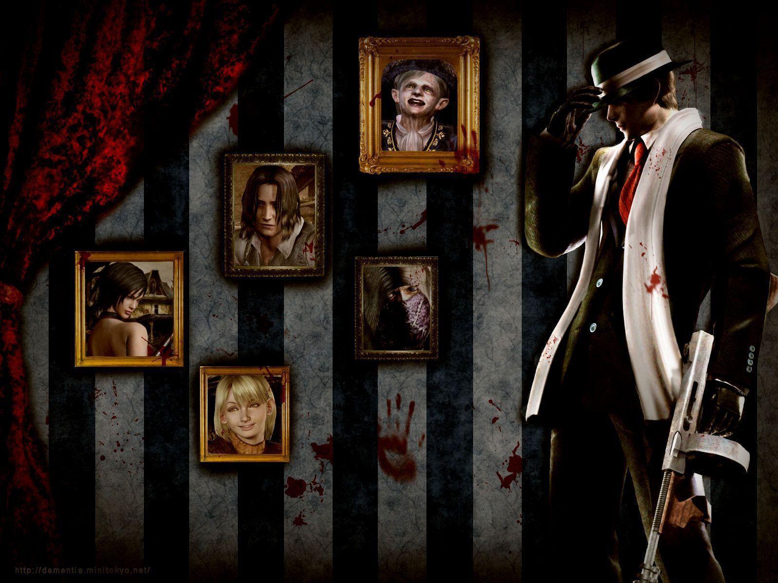 Resident Evil 4 Leon Wallpapers