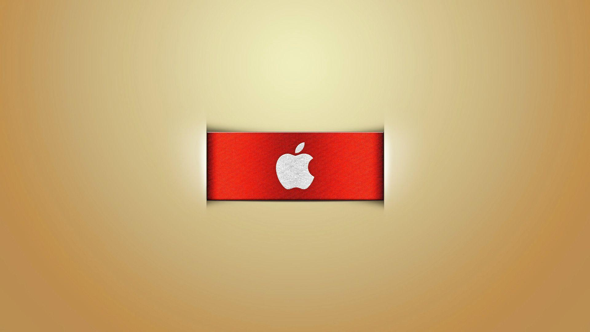 Wallpapers For > Red Apple Logo Wallpapers