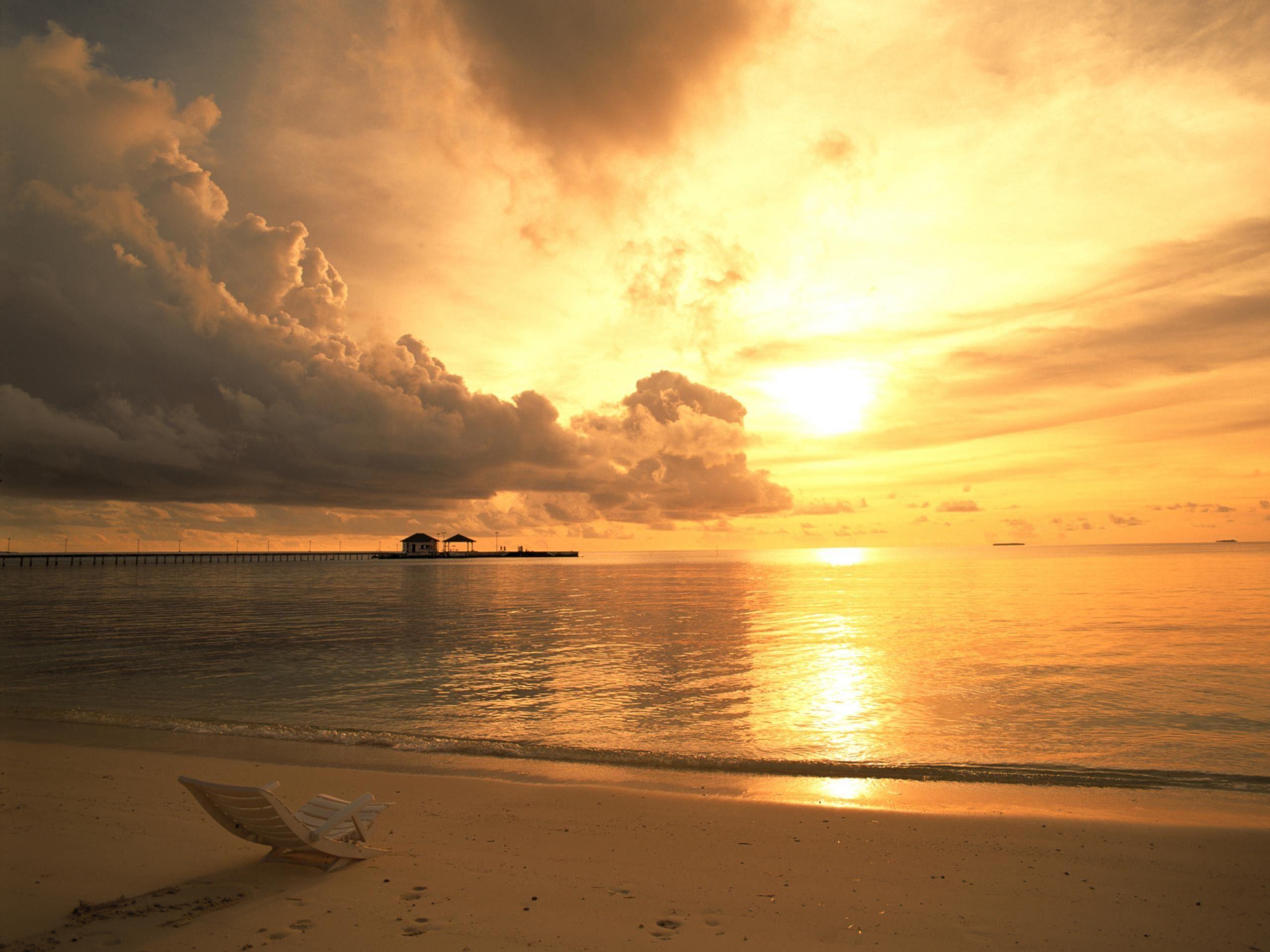 Tropical Beach Sunrise Wallpaper Images 6 HD Wallpaperscom