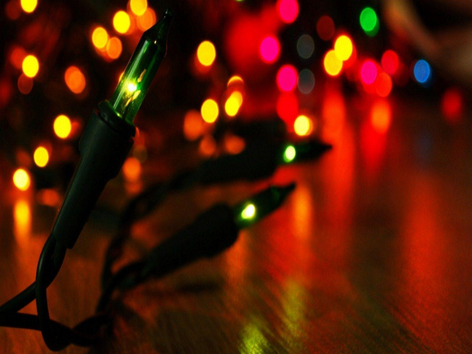 Free Christmas Lights Wallpapers - Wallpaper Cave