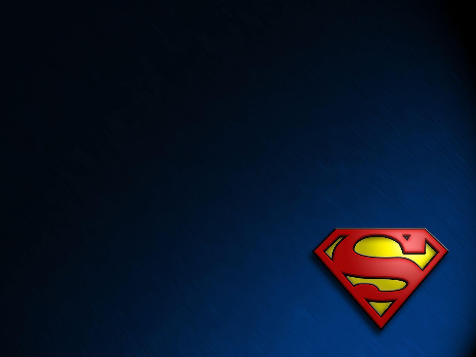 Superman Hd Wallpaper: Superman Logo Wallpapers Desktop