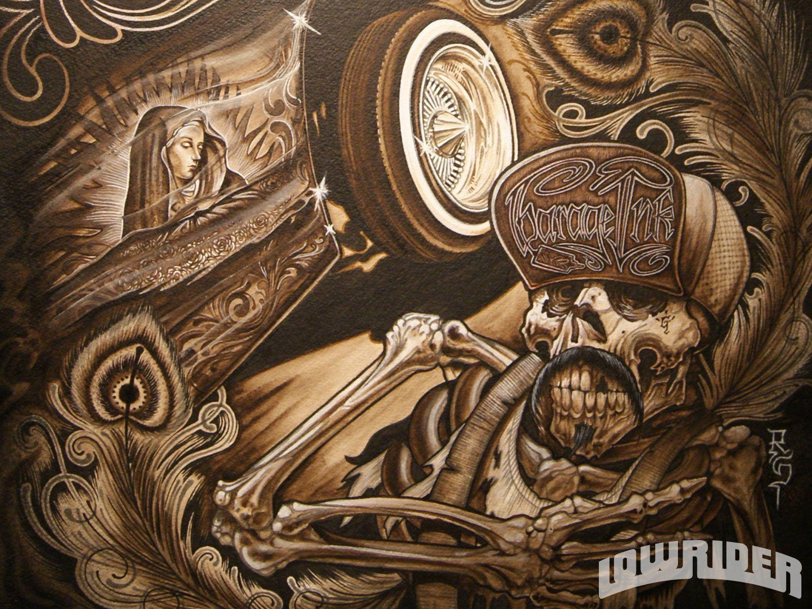Images For Lowrider Arte Wallpaper