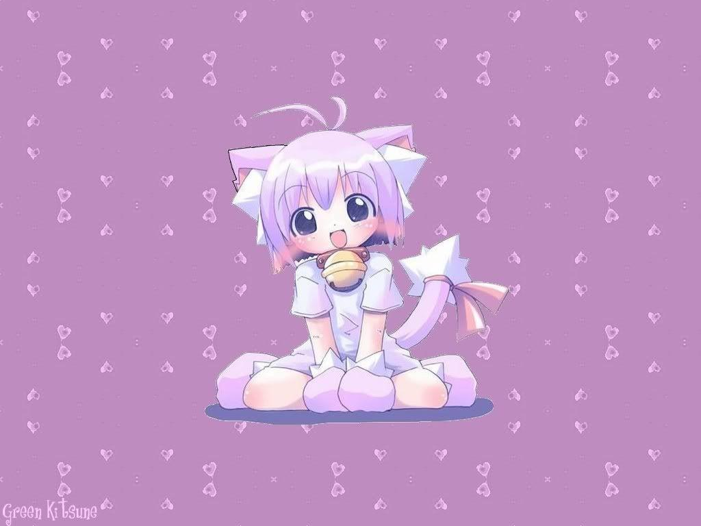 Pin Chibi Neko Wallpapers