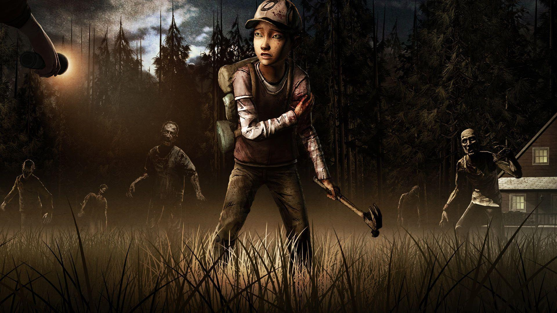 Images For > The Walking Dead Season 2 Game Wallpaper