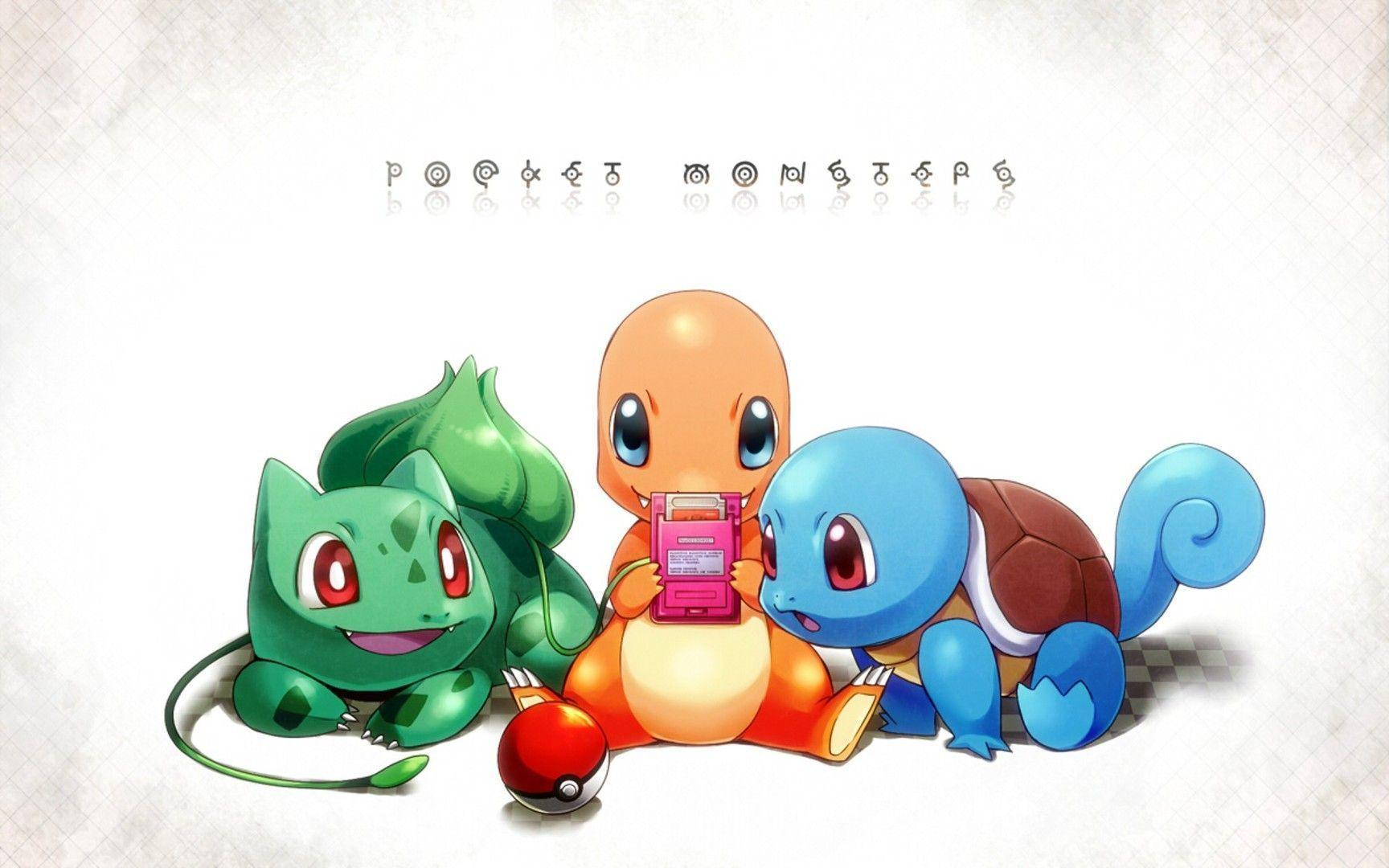 Squirtle Evolution Wallpaper