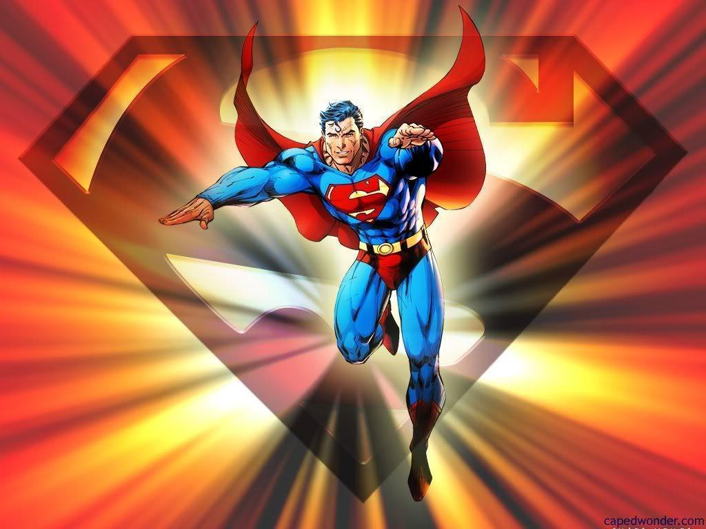 superman comic art wallpaper - photo #7