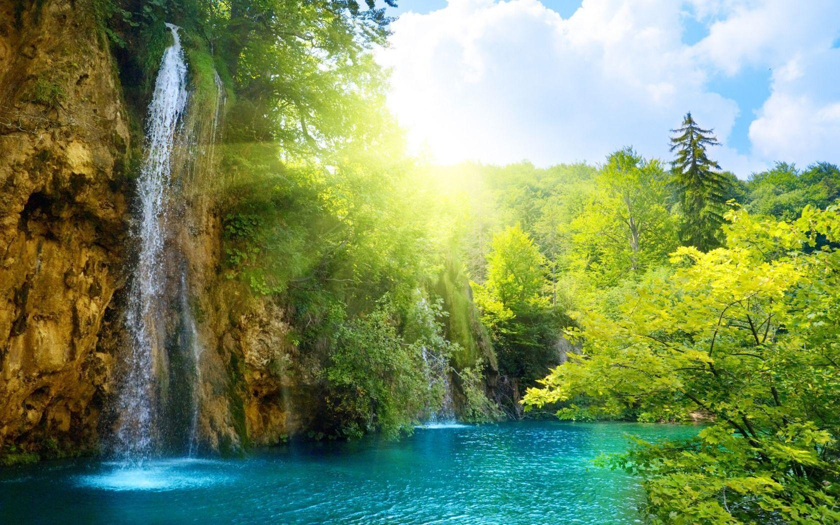 Download 3D Wallpapers Widescreen Waterfalls Hd 4928 Full HD