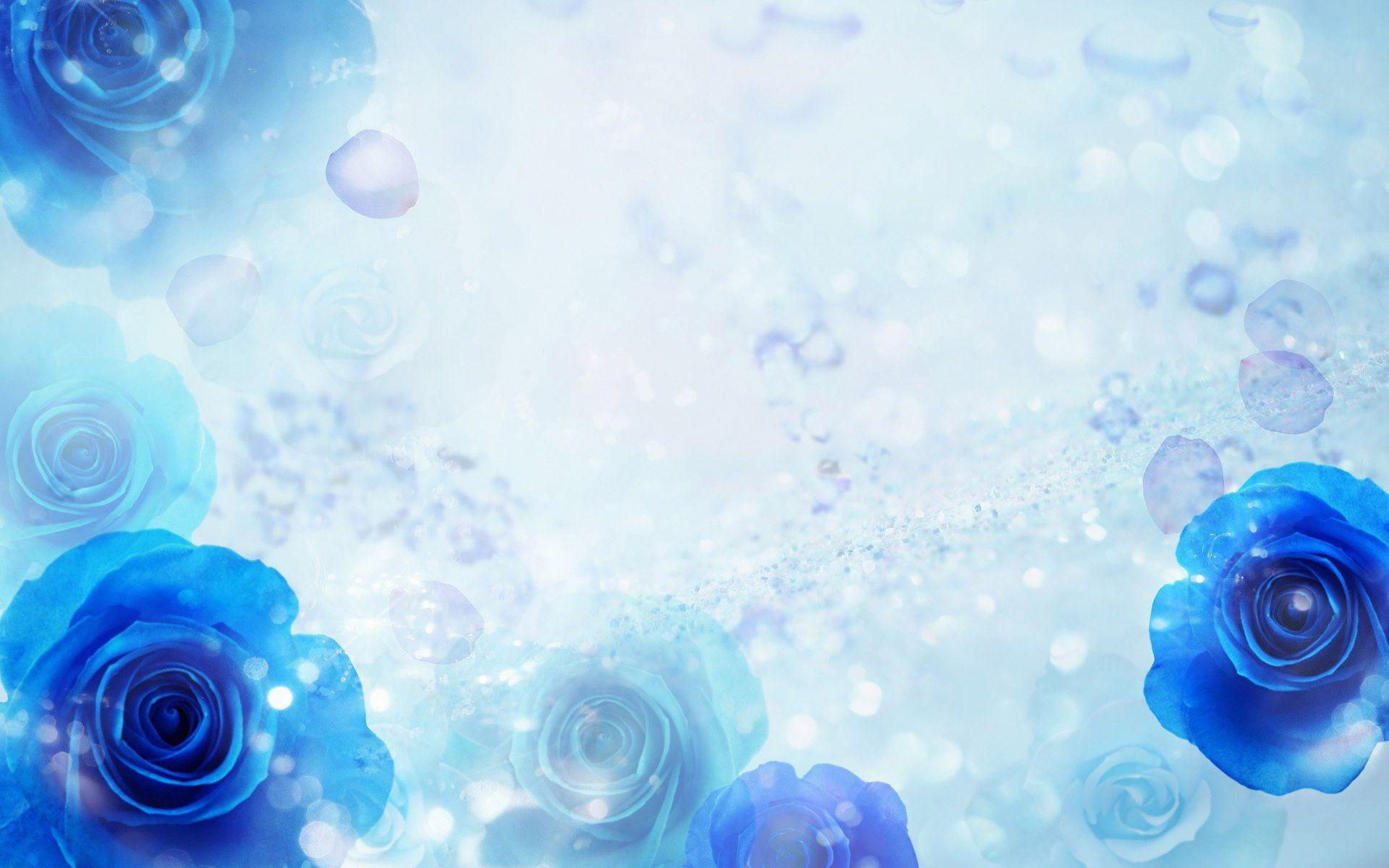 Blue Rose Backgrounds - Wallpaper Cave