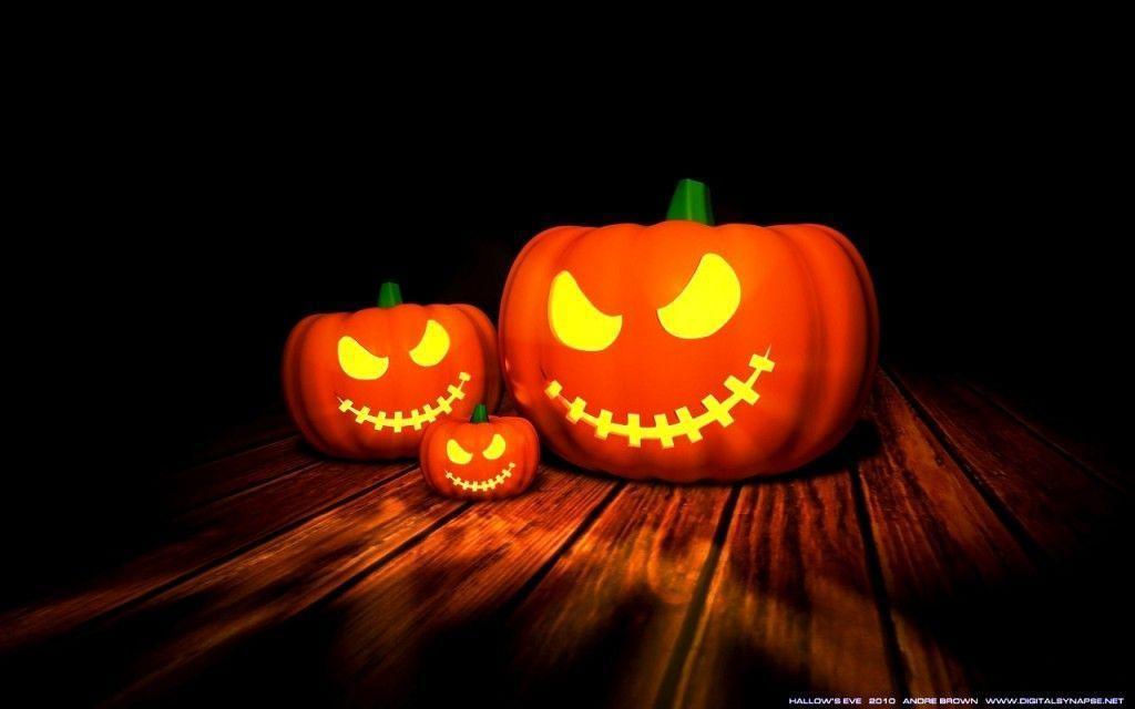Top Spooky House Night Hallowmas Halloween Wallpaper : Desktopaper ...