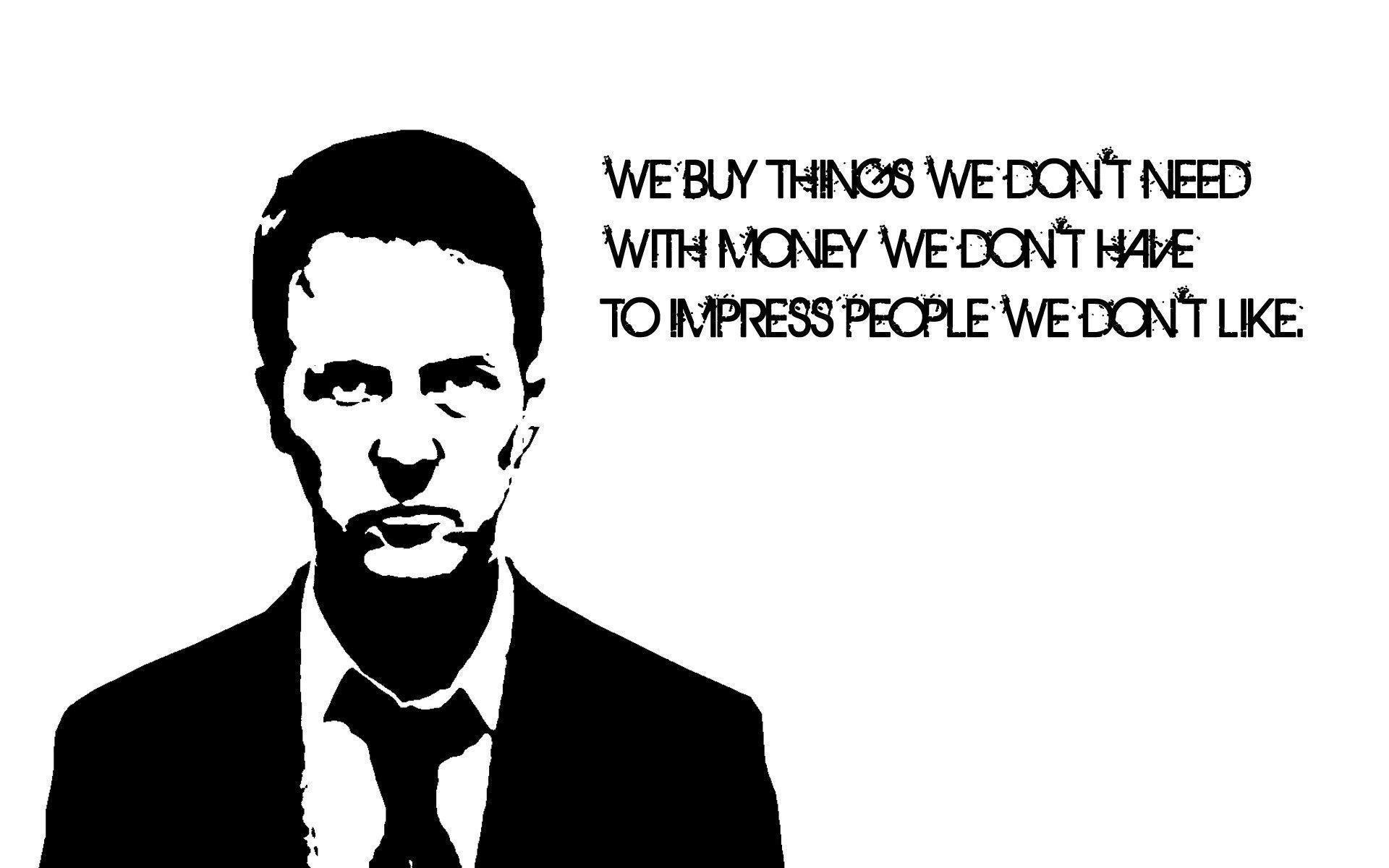Fight Club Wallpapers Quote - Wallpaper Cave