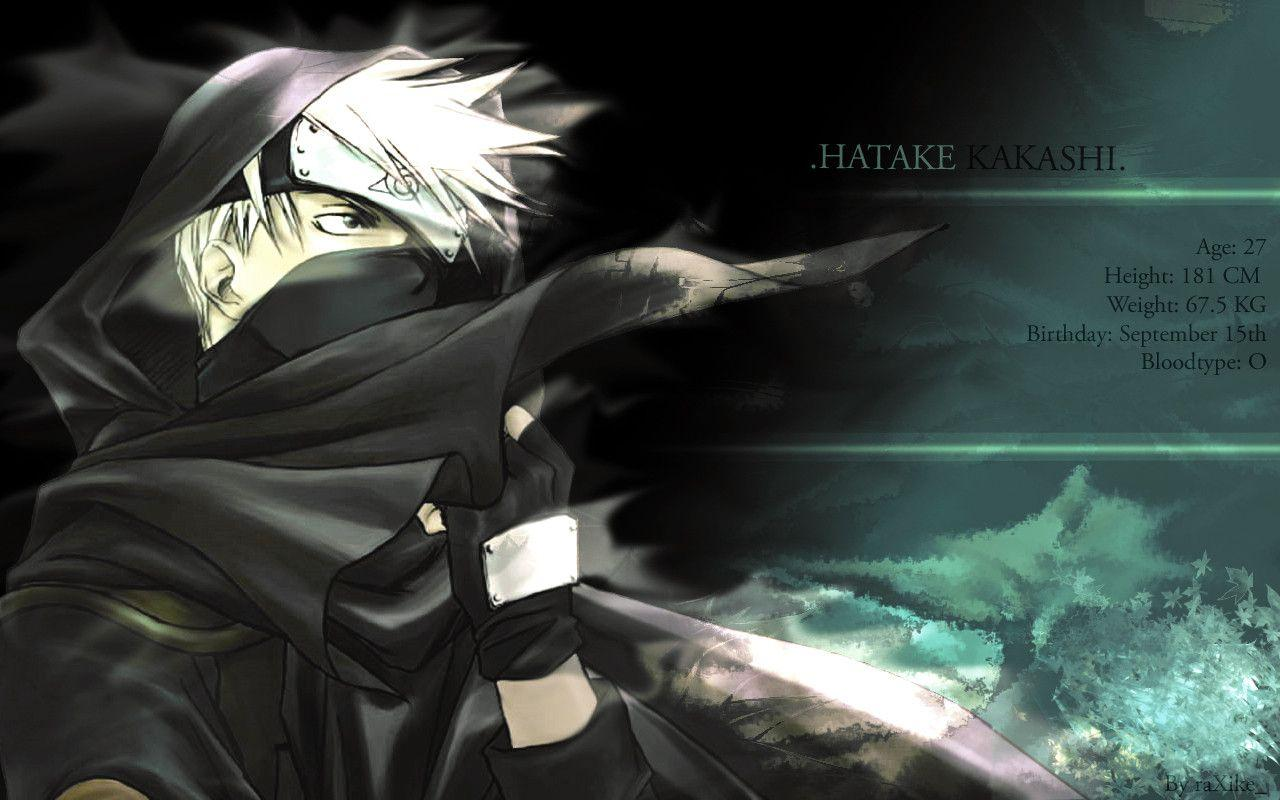 Hatake Kakashi Wallpaper v1 by raXike on DeviantArt