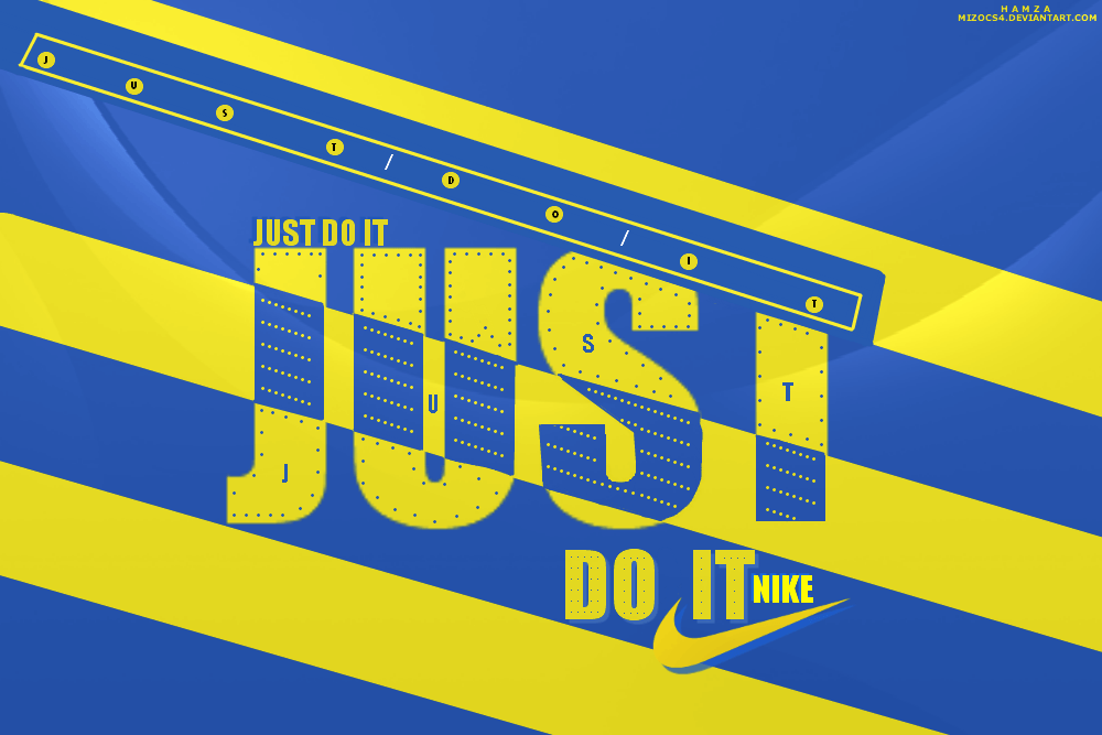 Nike just do it by MIZOCS4