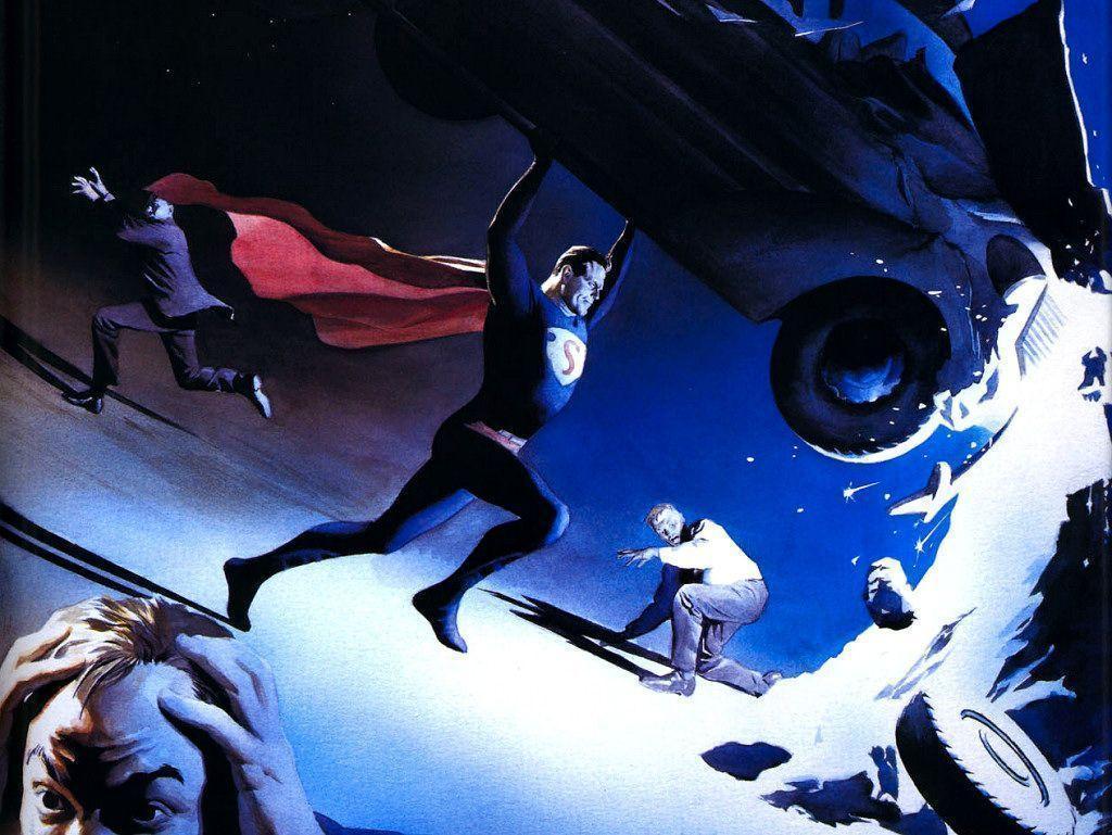 Alex Ross Wallpapers - Wallpaper Cave