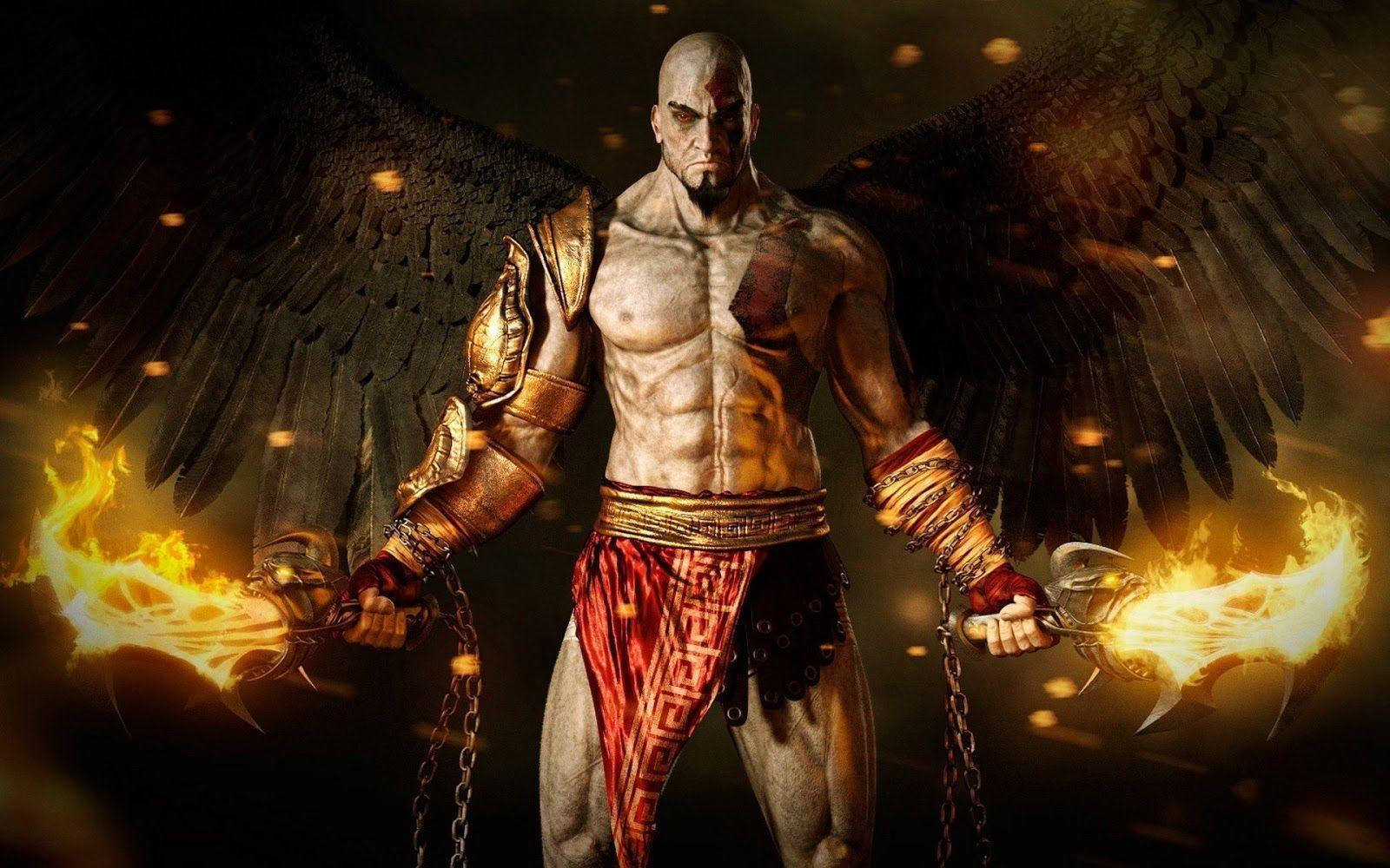 Wallpapers For > God Of War 3 Wallpapers Hd