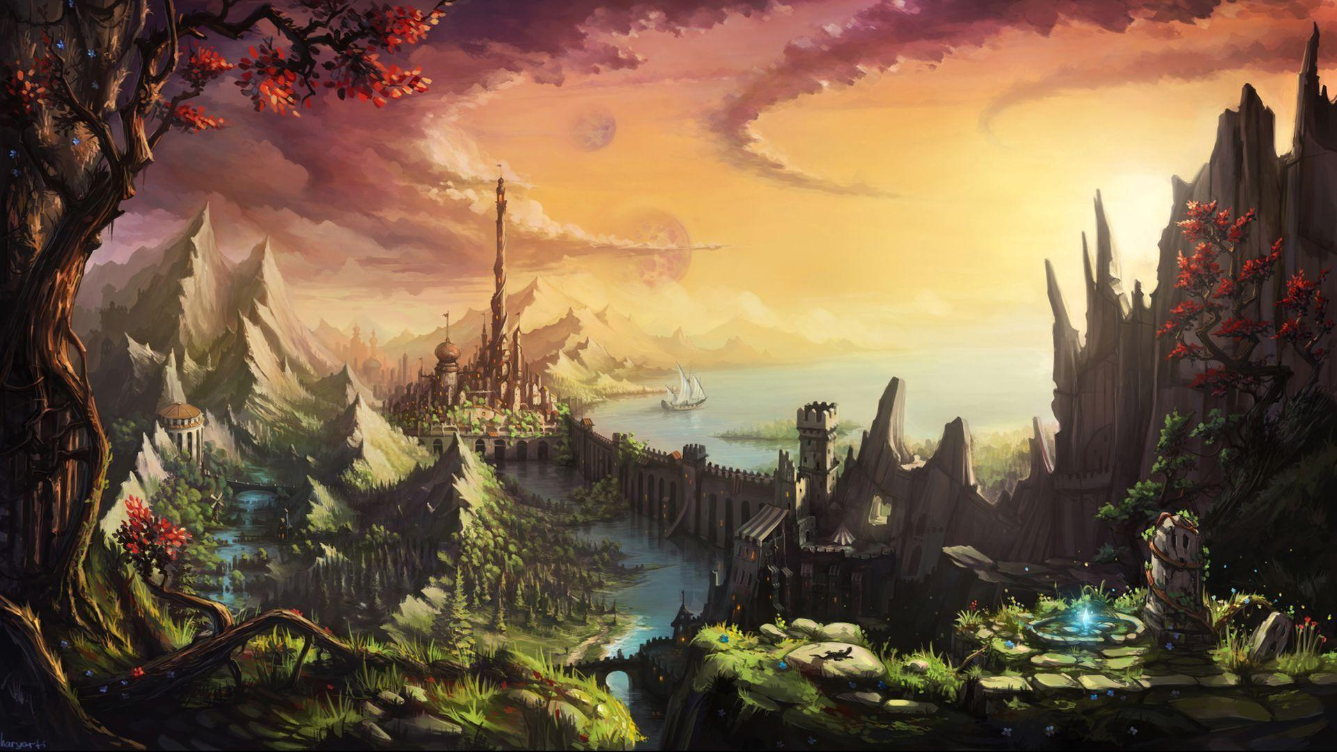 magic castle fantasy world - photo #34