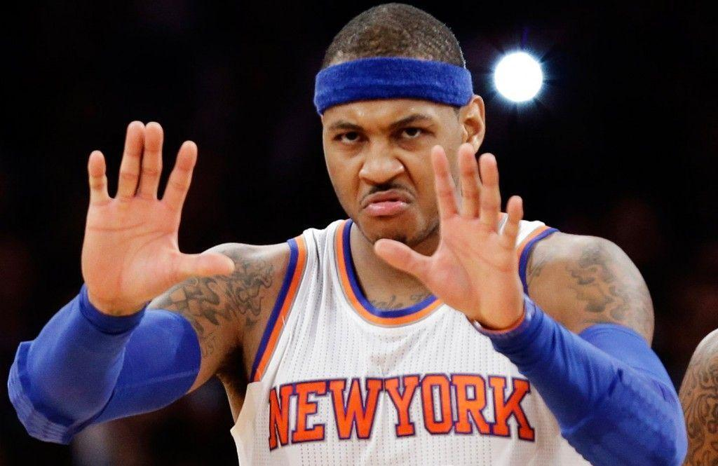 Carmelo Anthony has been fasting for the past 15 days…not just