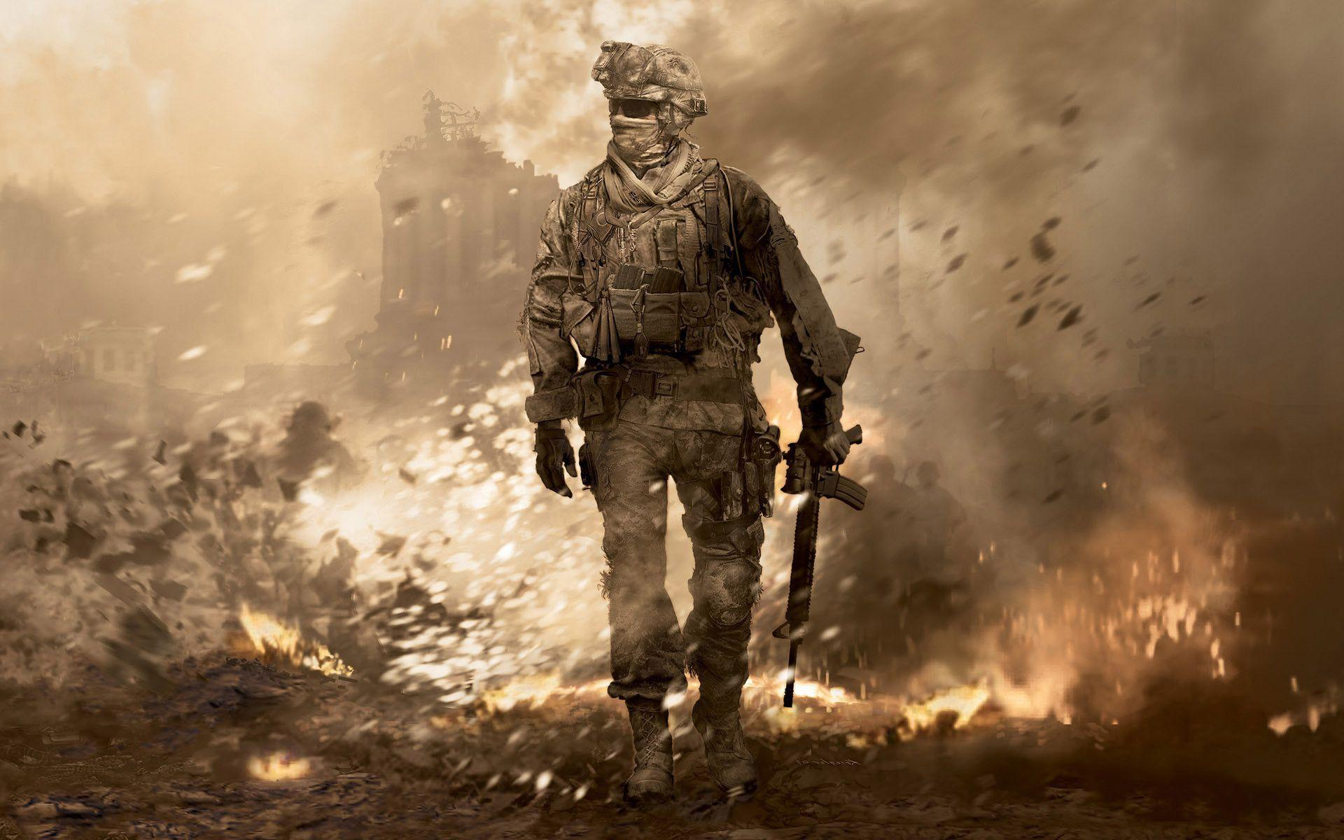Modern Warfare 2 Wallpapers 1080p Wallpaper Cave Hd Background Image Id 330739 1920x1200 Game Call Of Duty