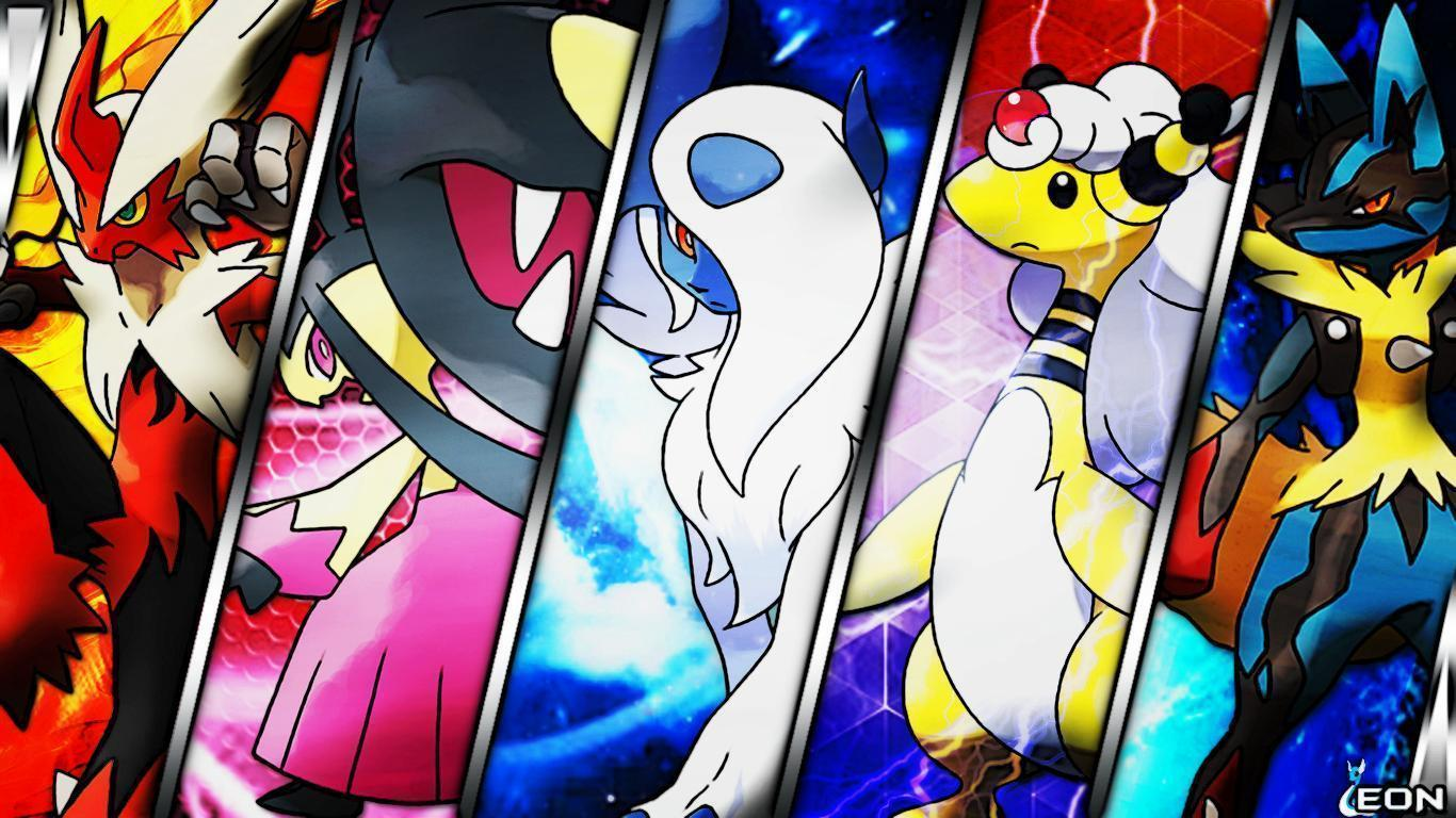 Pokemon Mega Lucario Wallpaper