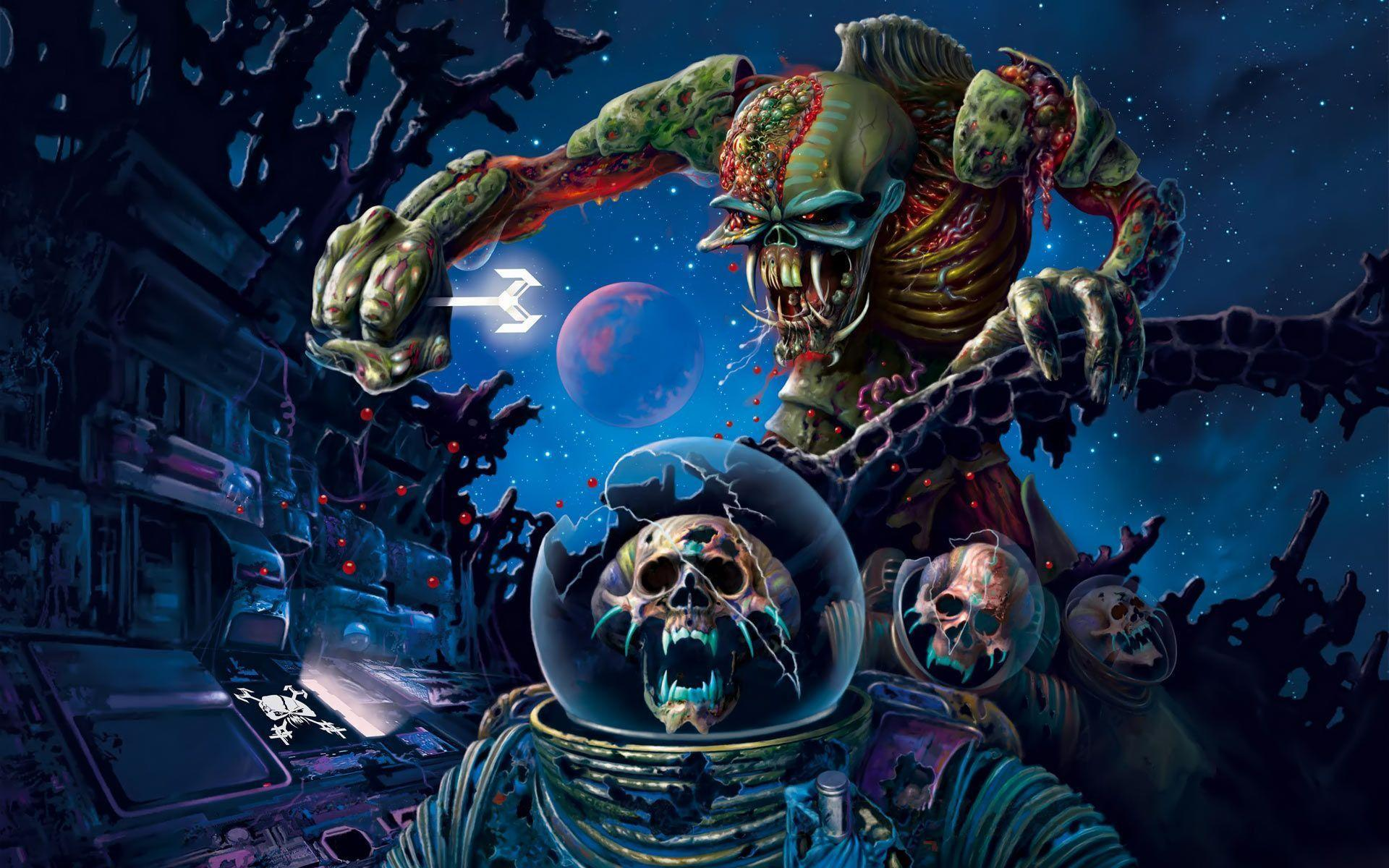 Desktop Wallpapers · Celebrities · Music · Iron Maiden Heavy metal
