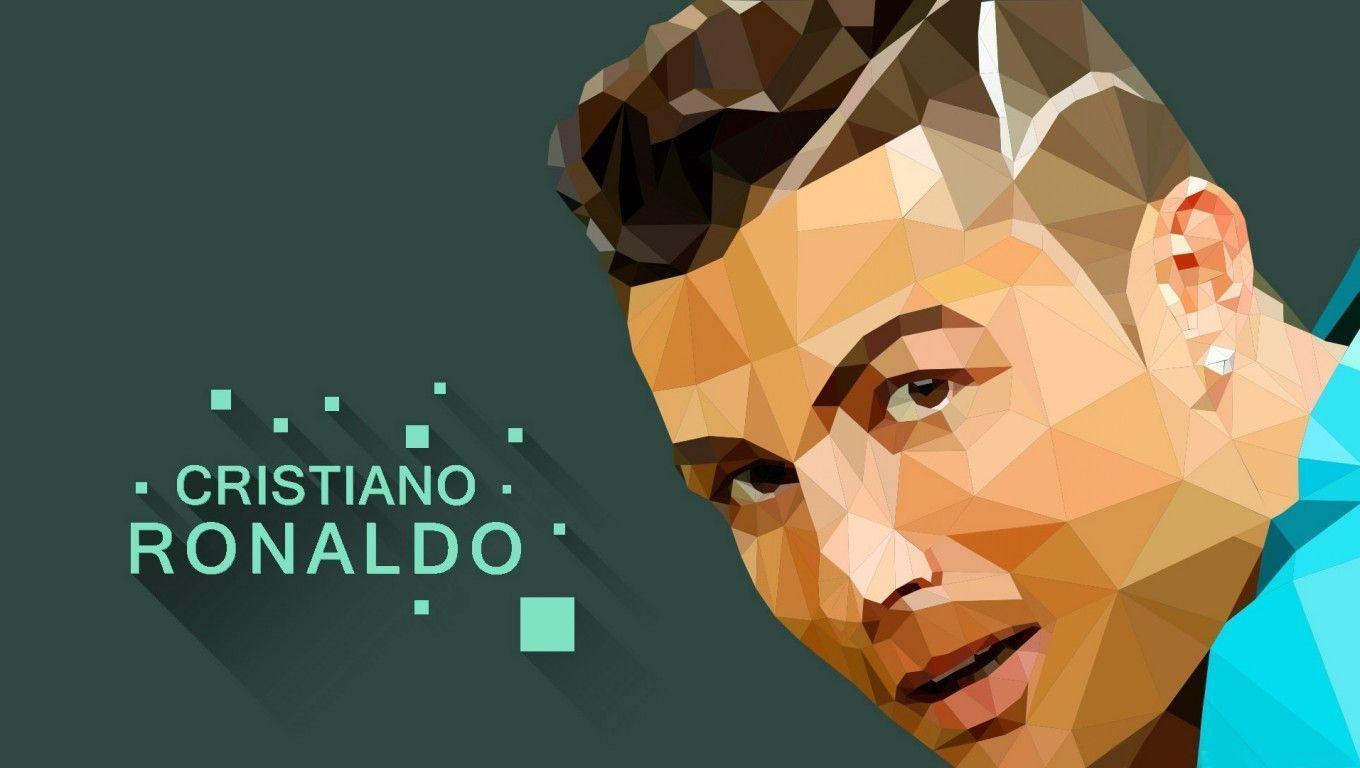 CR7 2015 Polygons Wallpapers Wide or HD