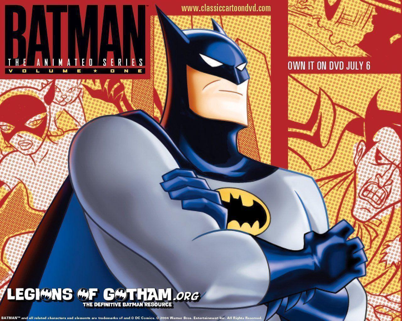 Batman Cartoon Wallpapers Wallpaper Cave