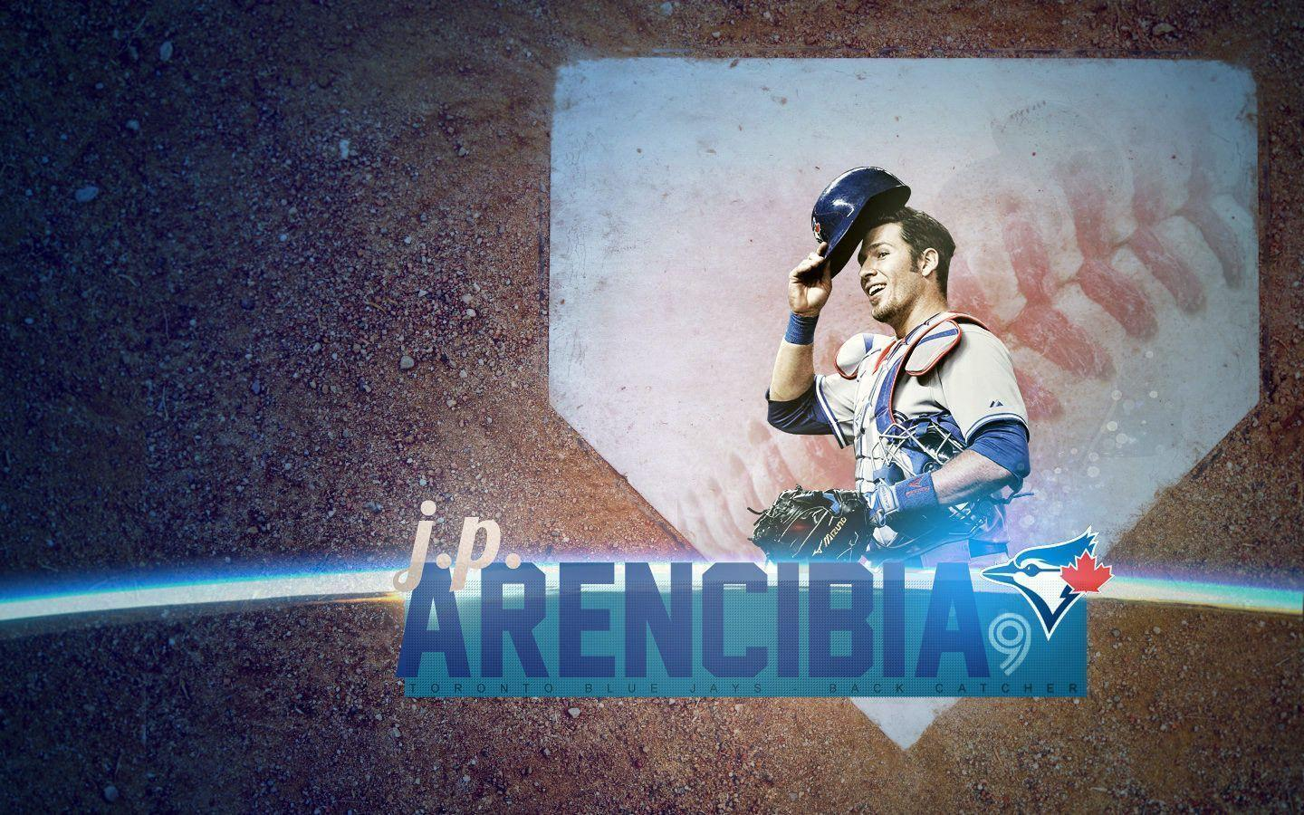 J.P. Arencibia Toronto Blue Jays 1440x900 wallpaper