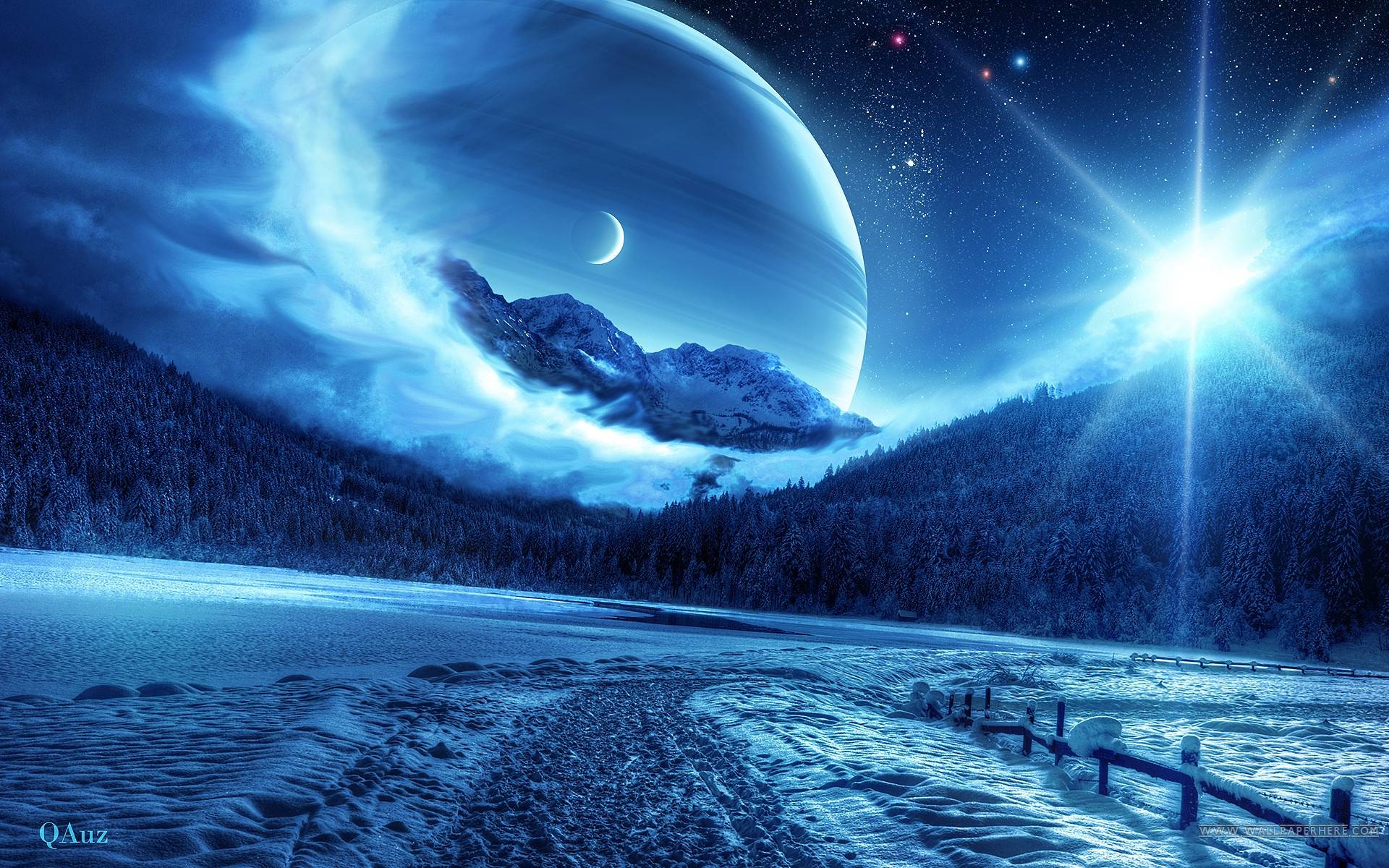 blue space wallpapers - wallpaper cave
