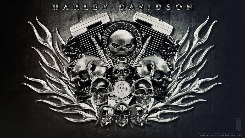 HARLEY DAVIDSON Wallpaper HD by kimoz on DeviantArt