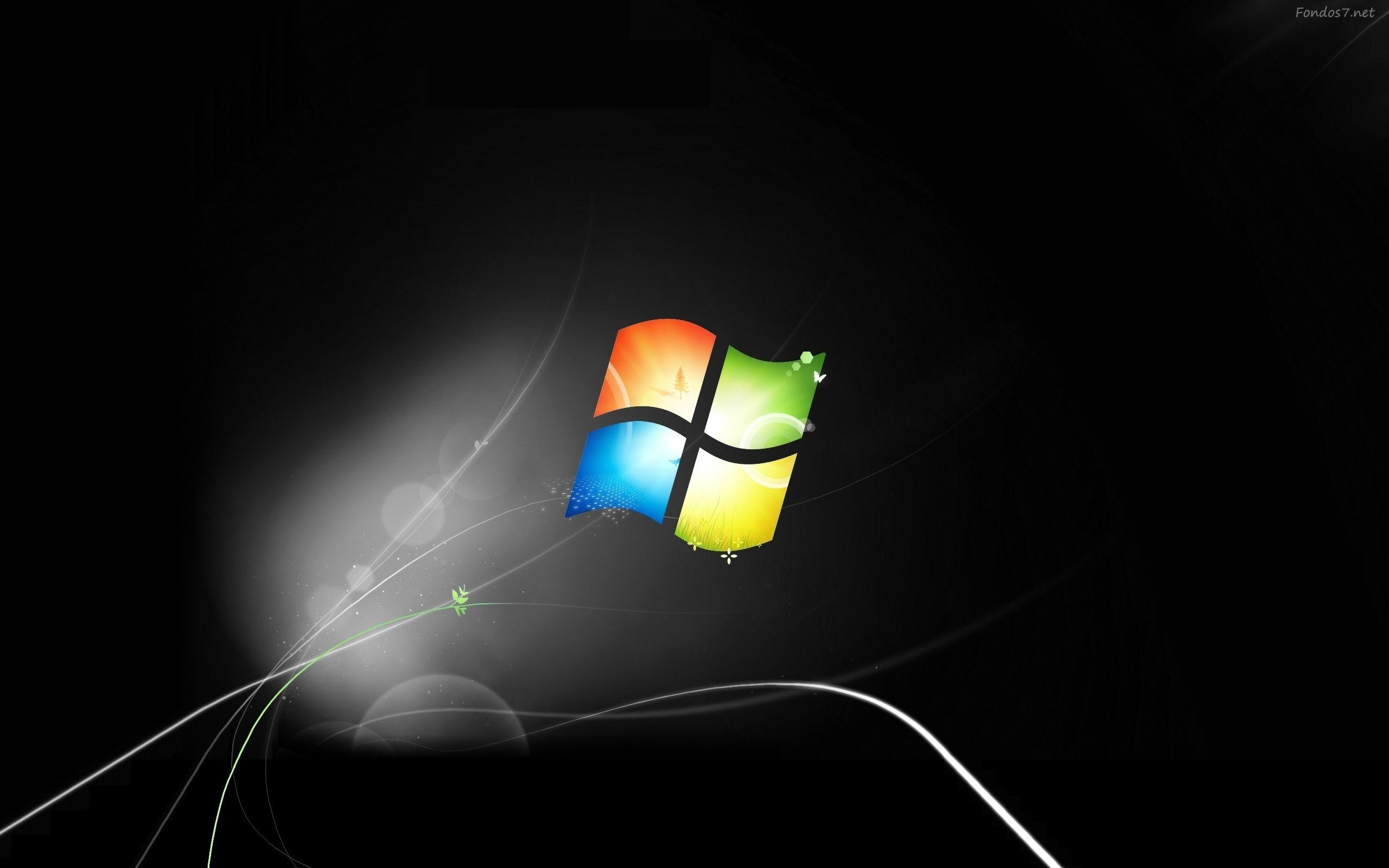 window 7 black wallpaper -#main