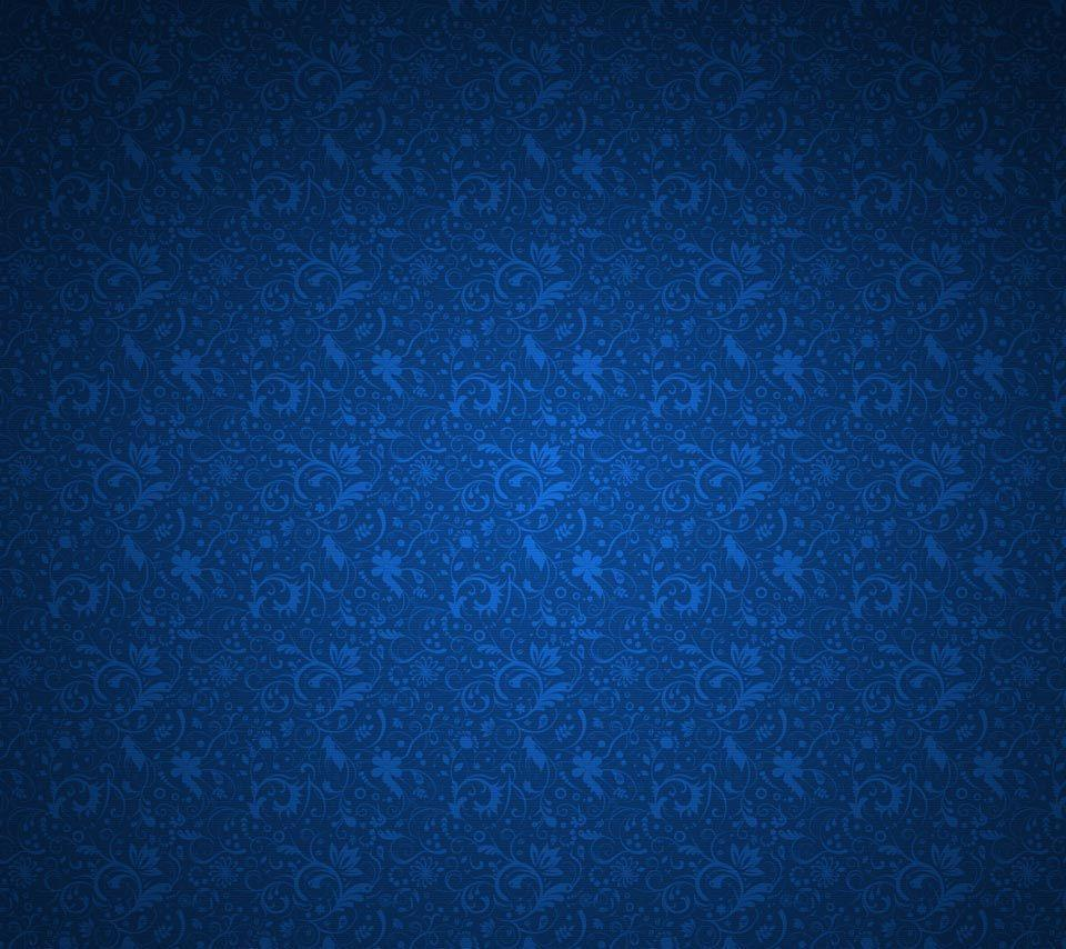 Wallpapers For > Navy Blue Pattern Background