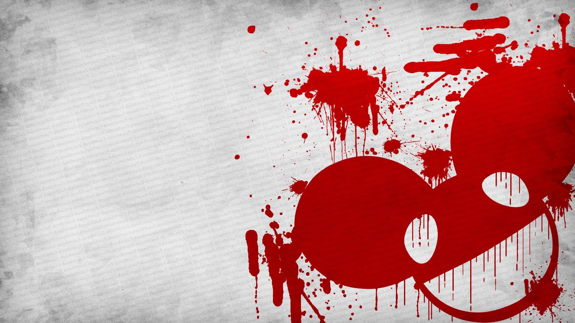 deadmau5 music red wallpaper - photo #29